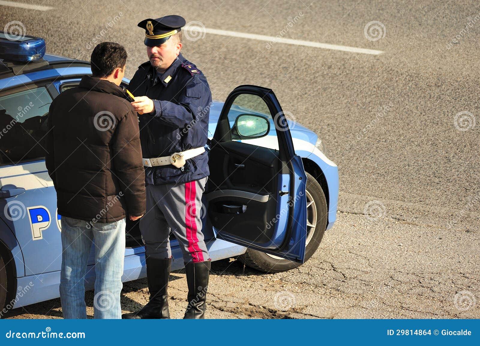 Essai de sobriété de bord de la route
