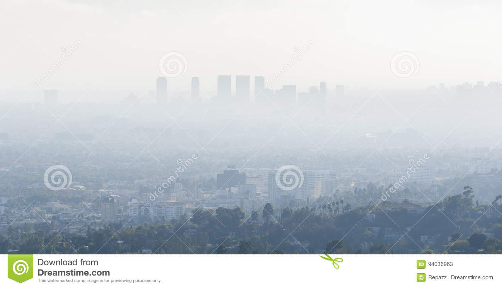 Air Pollution in Los Angeles, California