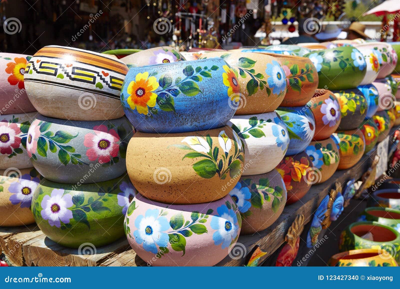 La porcelaine mexicaine et handcraft