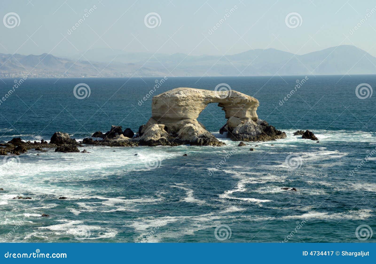 La Portada, o Chile