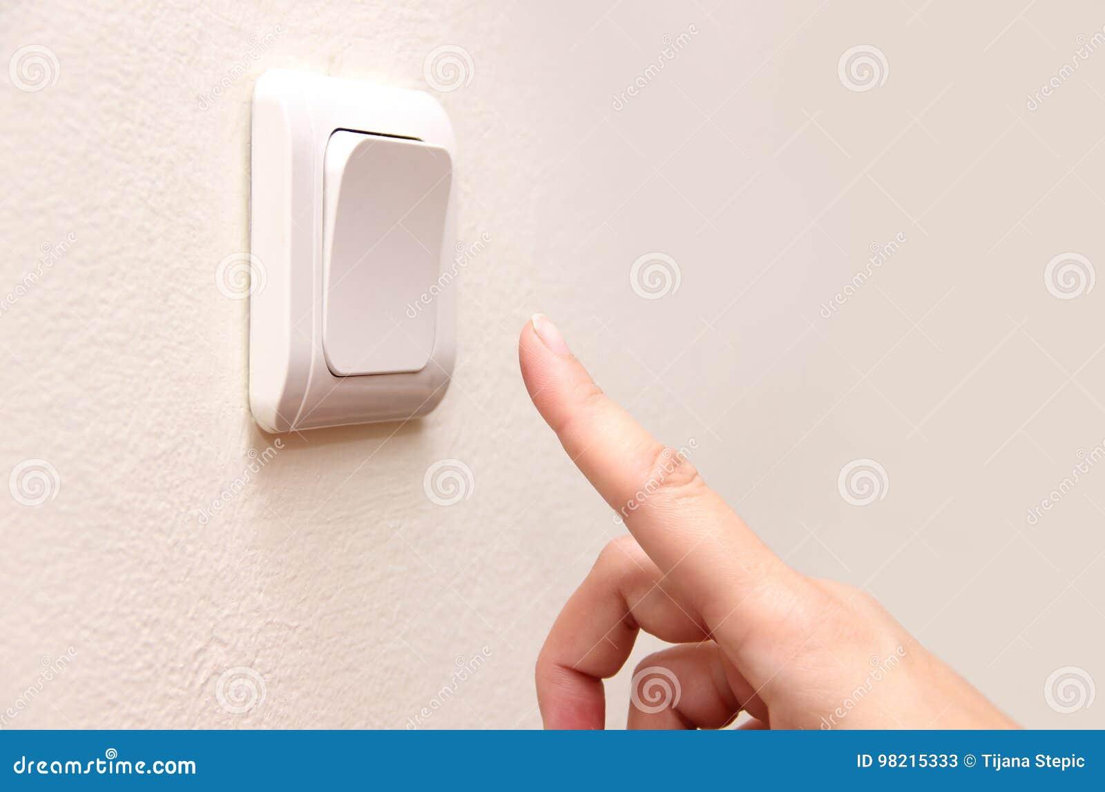 La prensa del finger apaga