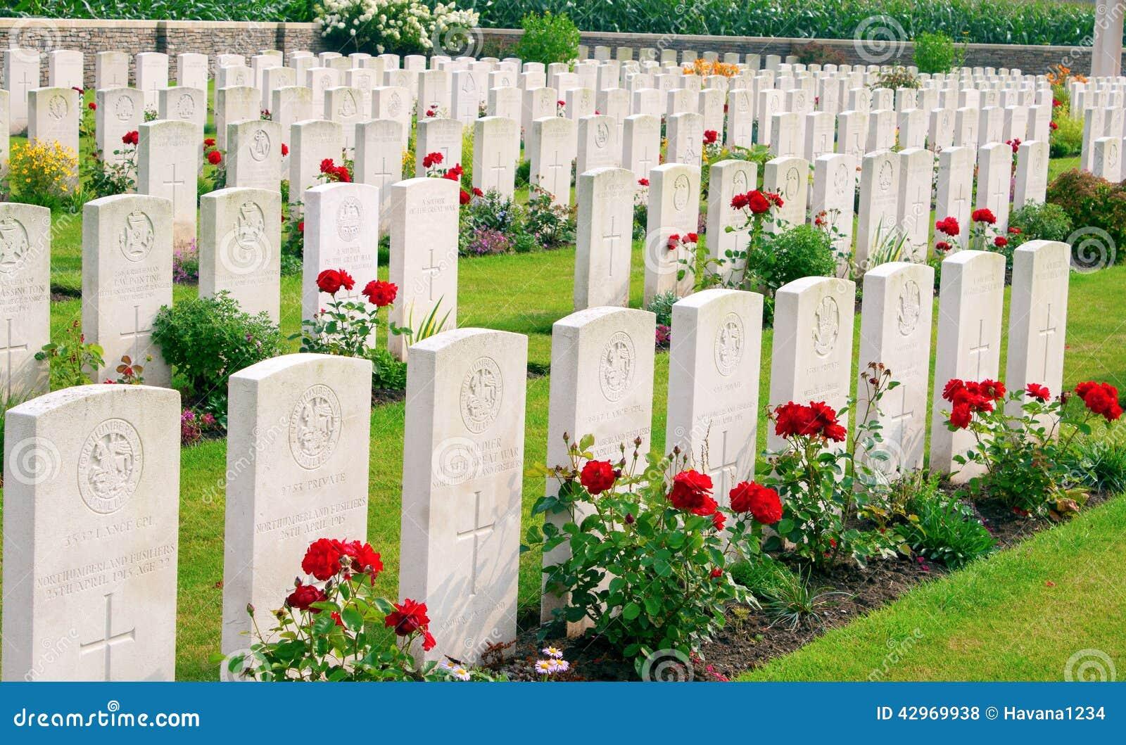 La Primera Guerra Mundial Ypres Flander Bélgica de Bedford House Cemetery