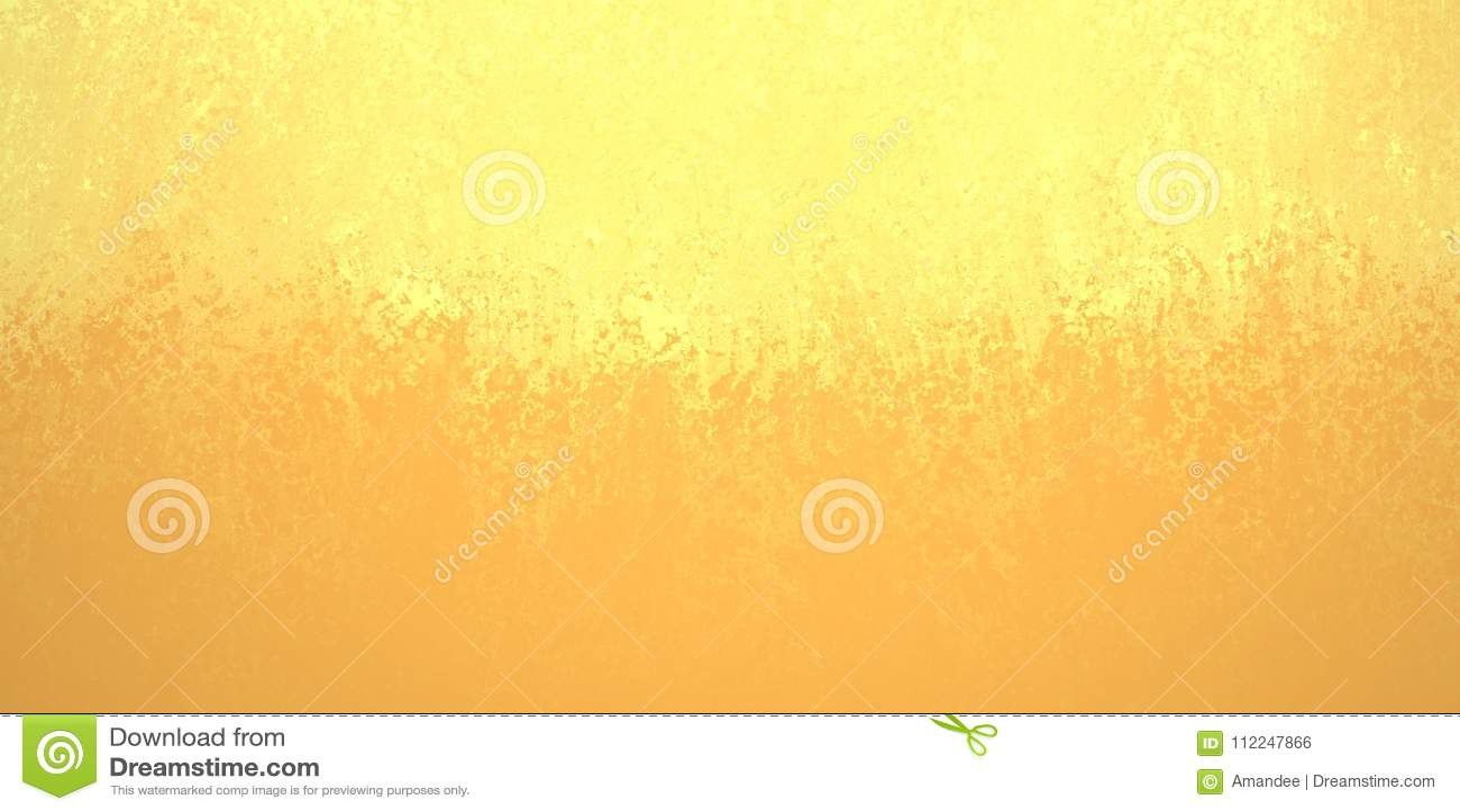 La progettazione astratta del fondo dell oro giallo, confine ha i vantaggi arancio più scuri di colore