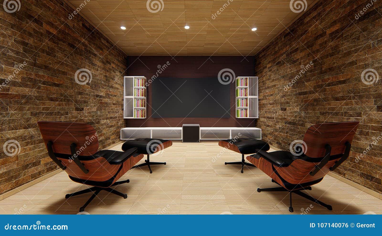 La progettazione morbida della casa di spettacolo del uhd 4k del sofà di progettazione del proiettore del teatro domestico TV bel