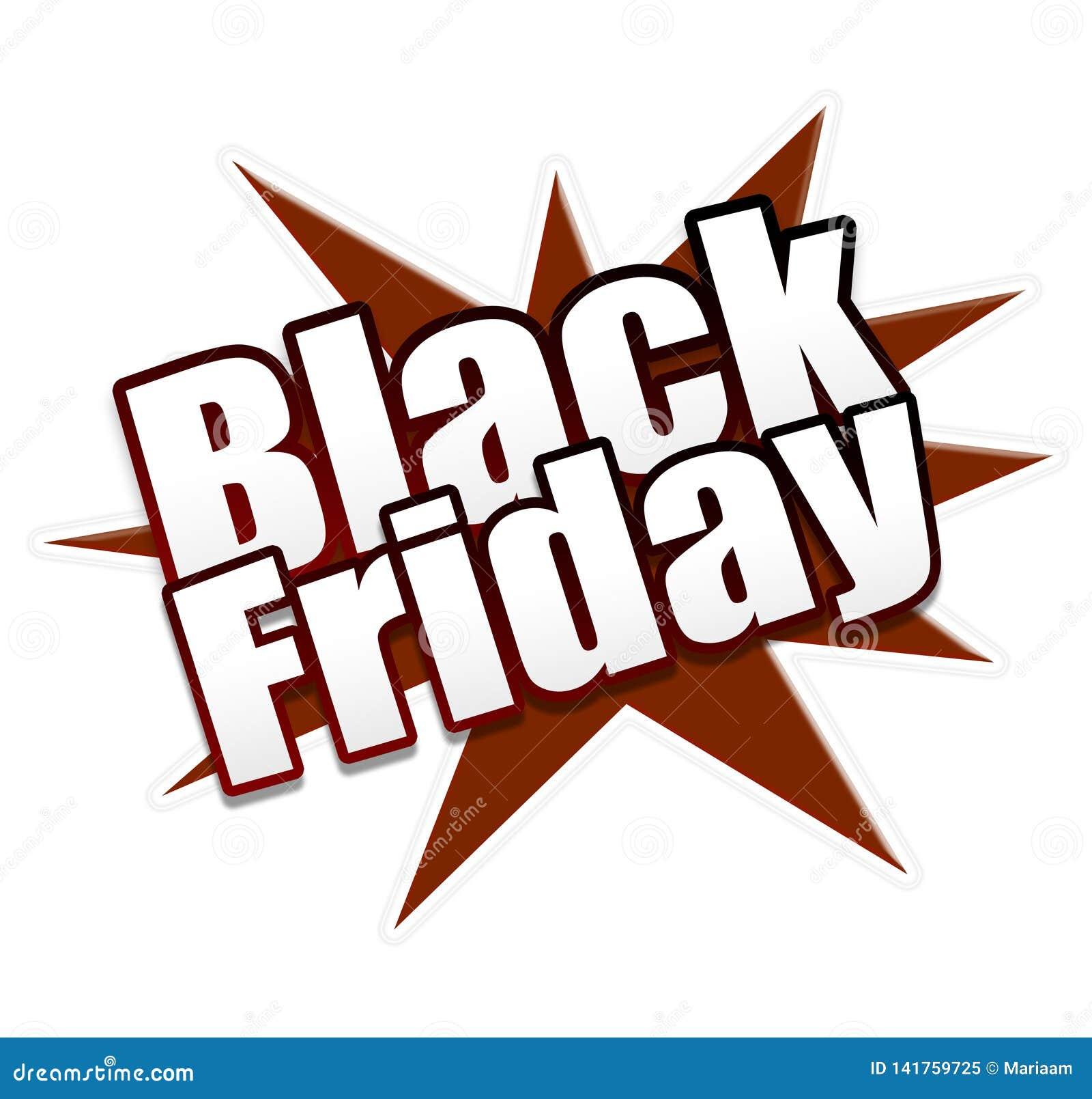 La publicité du symbole : Heure pour la vente noire de vendredi ! Économisez maintenant