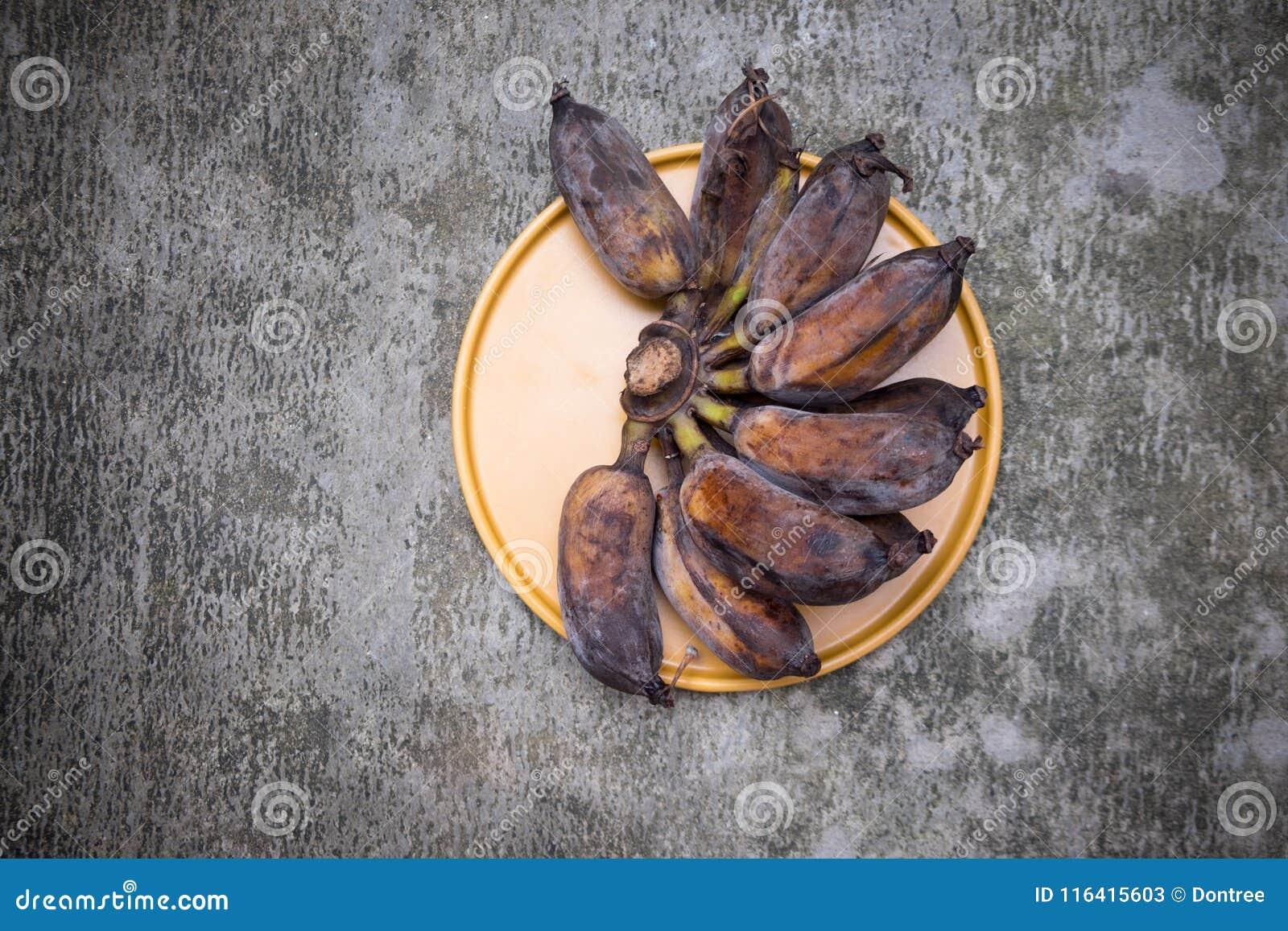 La putrefazione della banana
