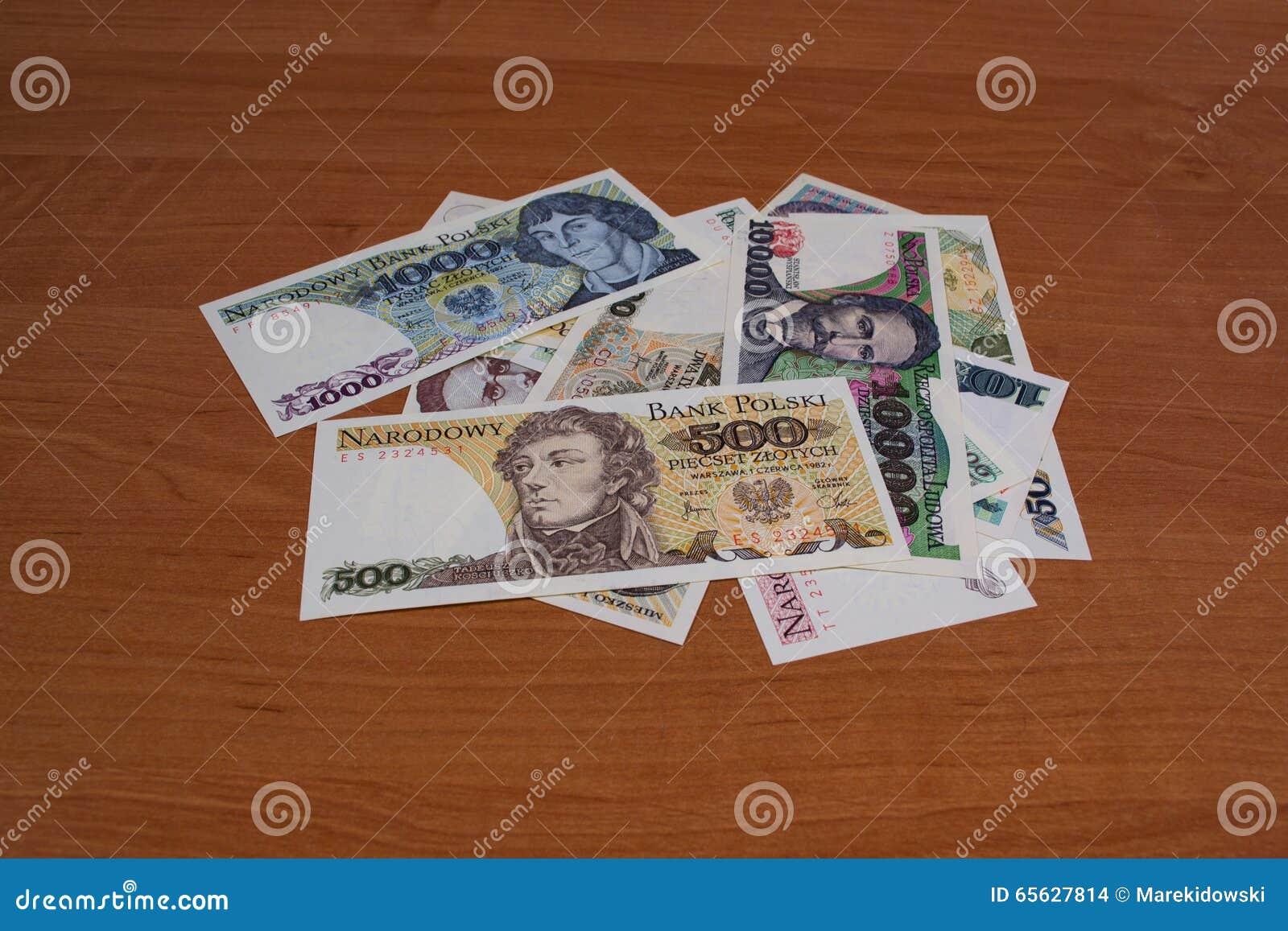 La République populaire polonaise collectable de billets de banque