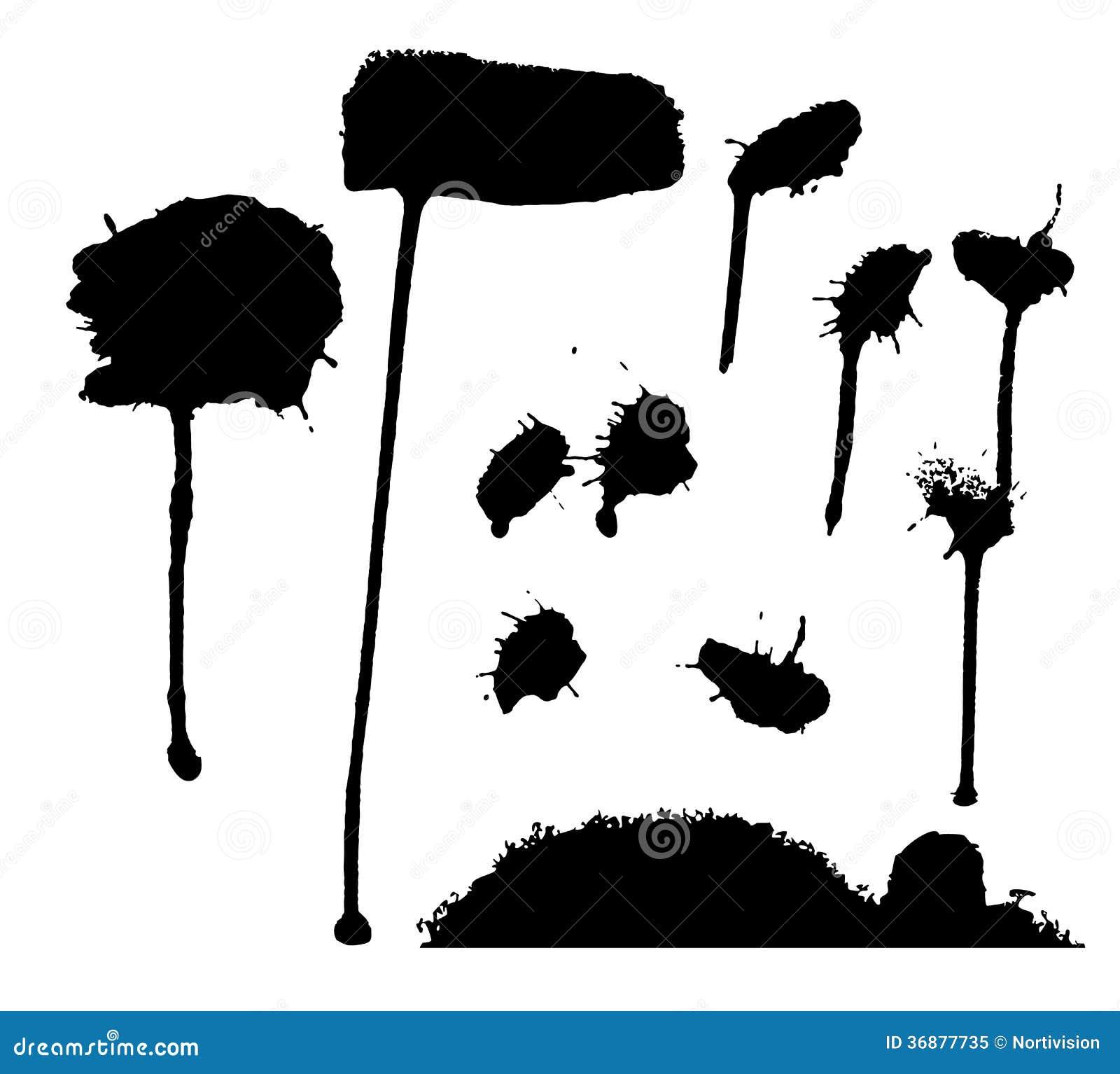 Download La Raccolta Di Schizza Le Spazzole Illustrazione Vettoriale - Illustrazione di inchiostro, tintura: 36877735