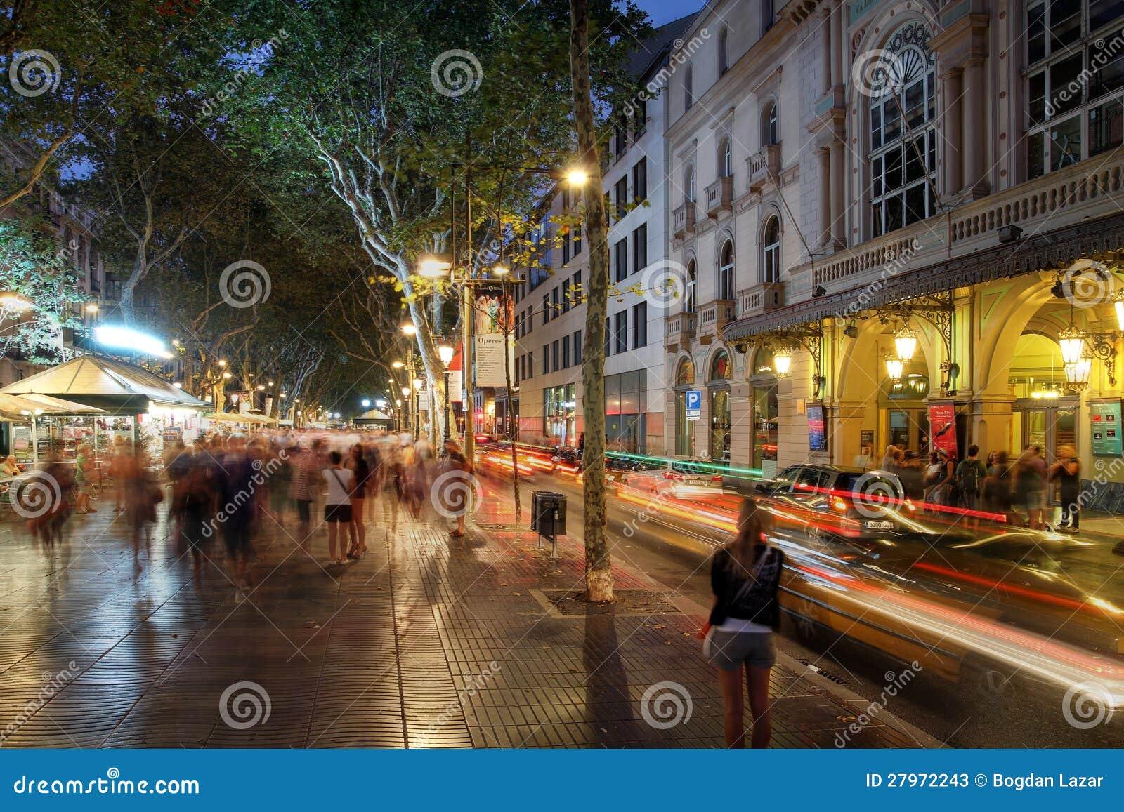 La Rambla, Barcelone, Espagne