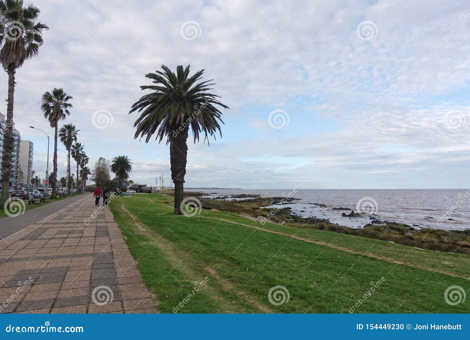 La Rambla i Montevideo, Uruguay