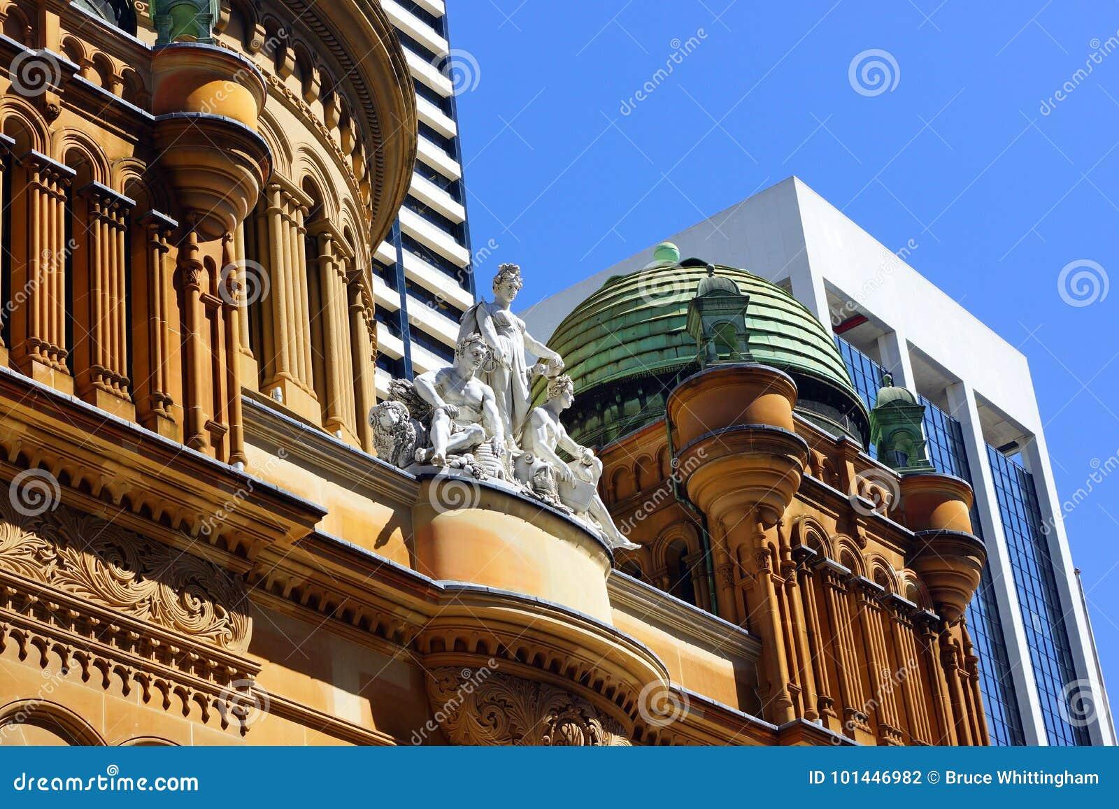 La Reine Victoria Building, Sydney, Australie