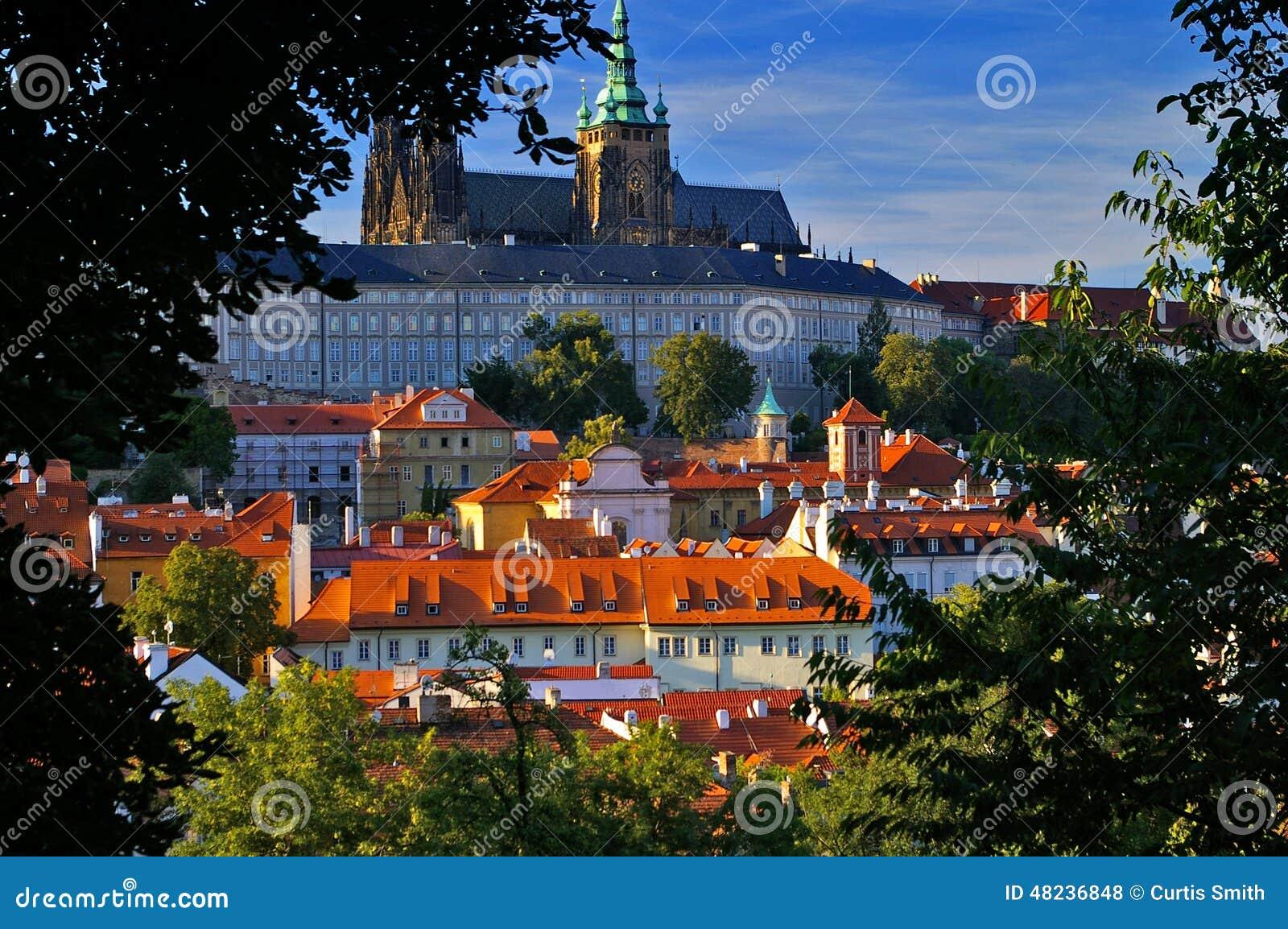 La repubblica Ceca della cattedrale del castello di Praga