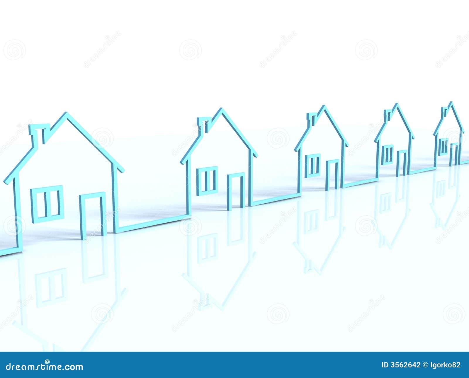 La riga delle case