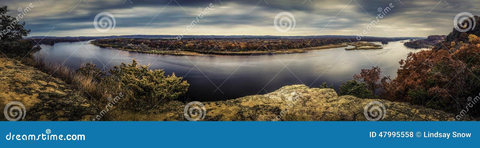La rivière Wisconsin
