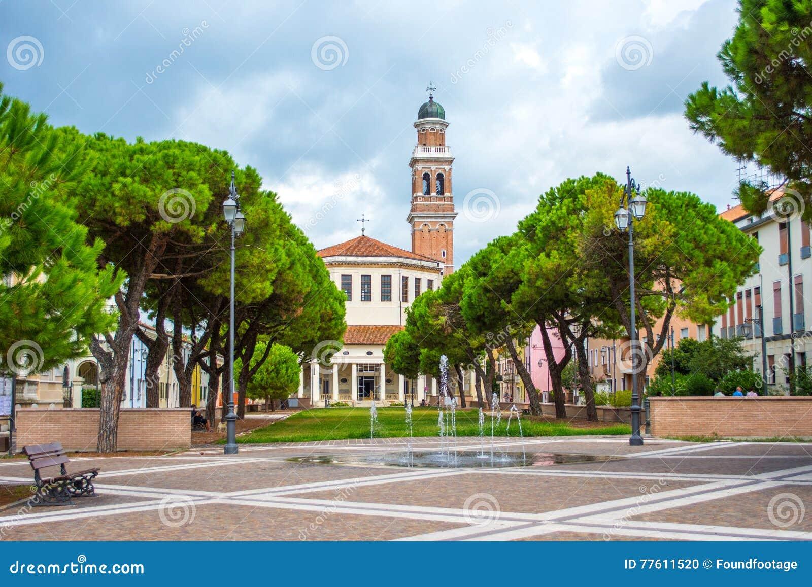 La Rotonda, Rovigo, Veneto, Italien