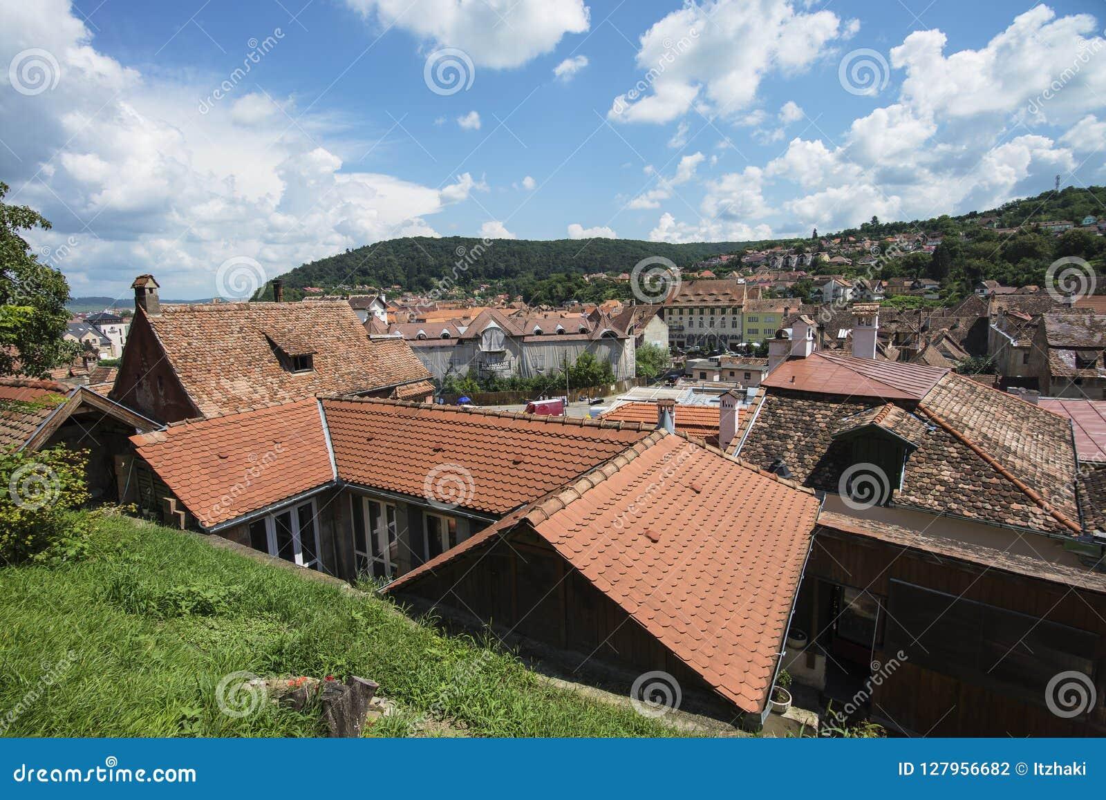 La Roumanie, vue de Sighisoara