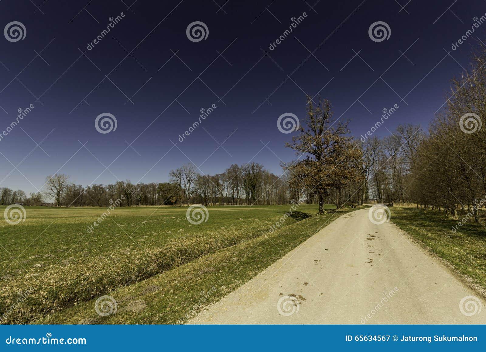 La route en Allemagne
