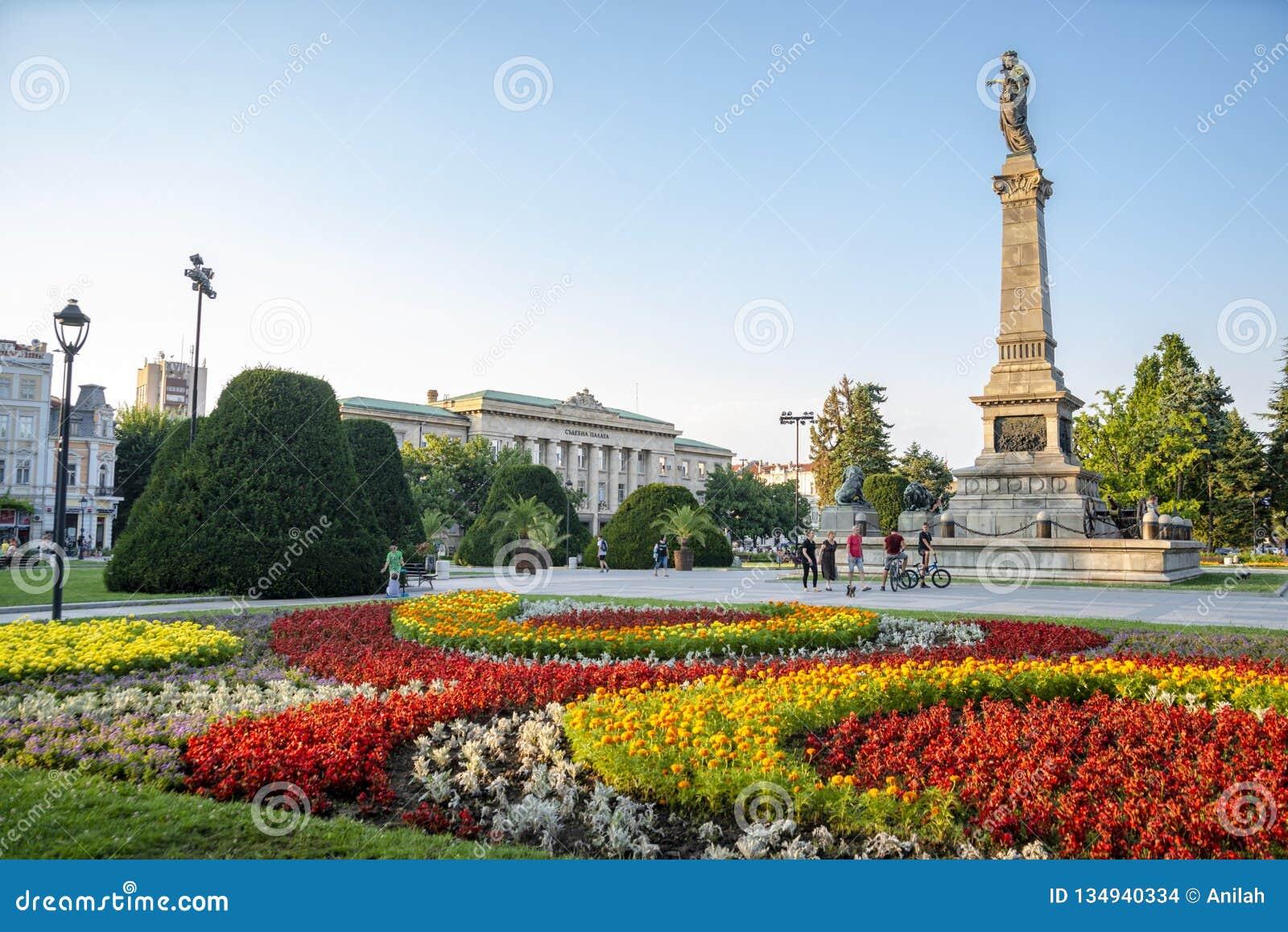 La rue à Ruse en Bulgarie