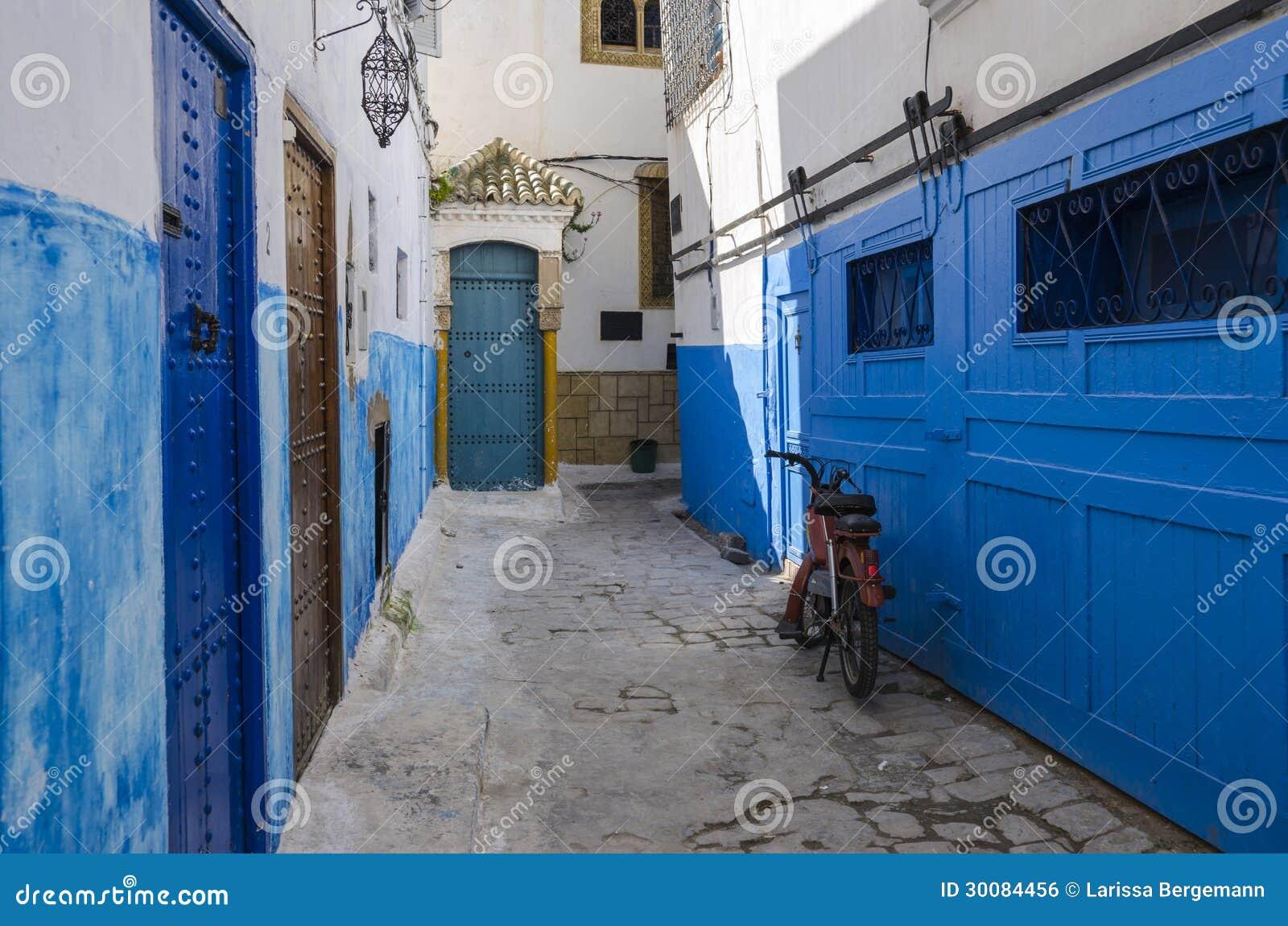 La rue bleue