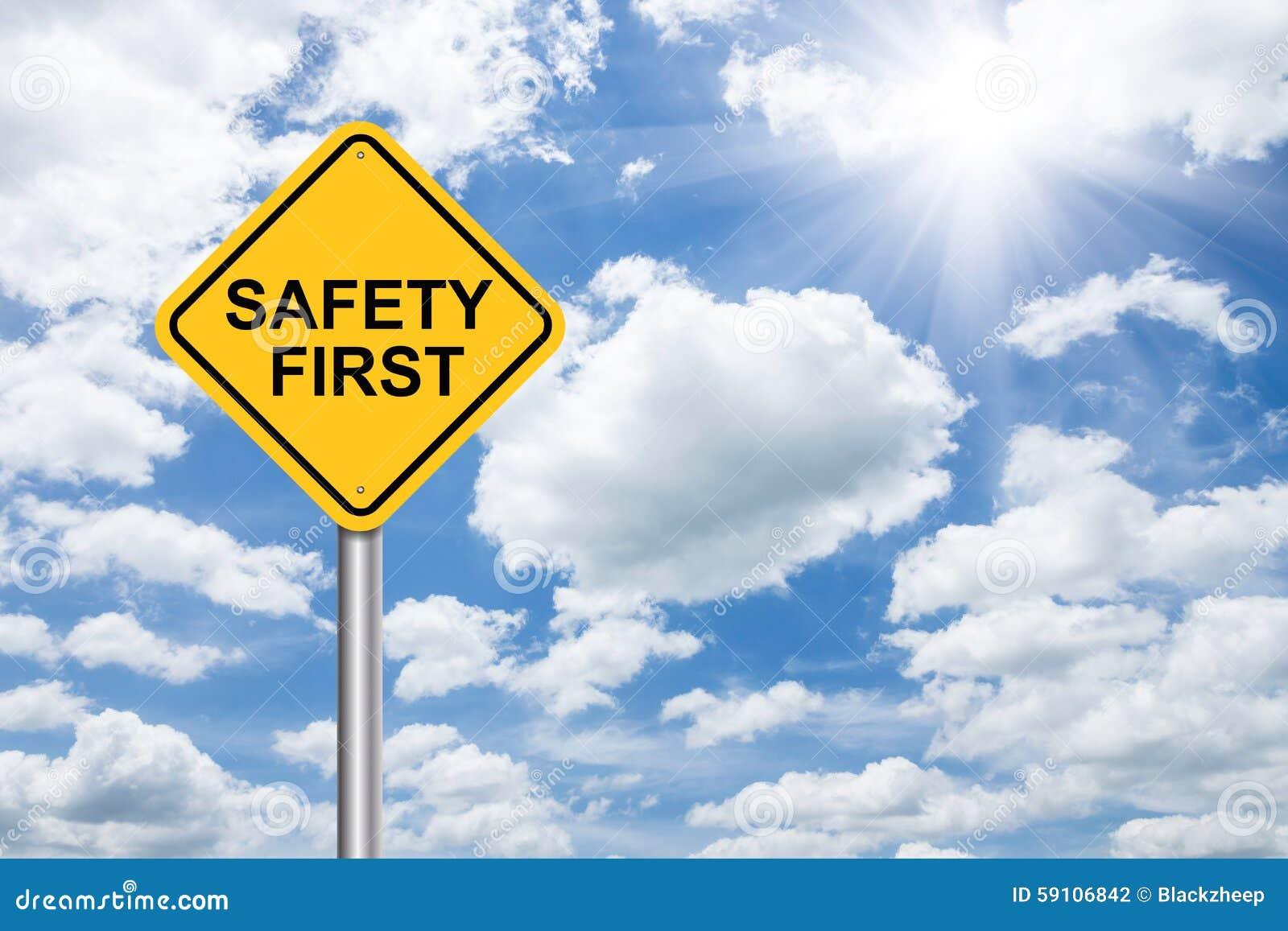 La sécurité se connectent d abord le ciel bleu