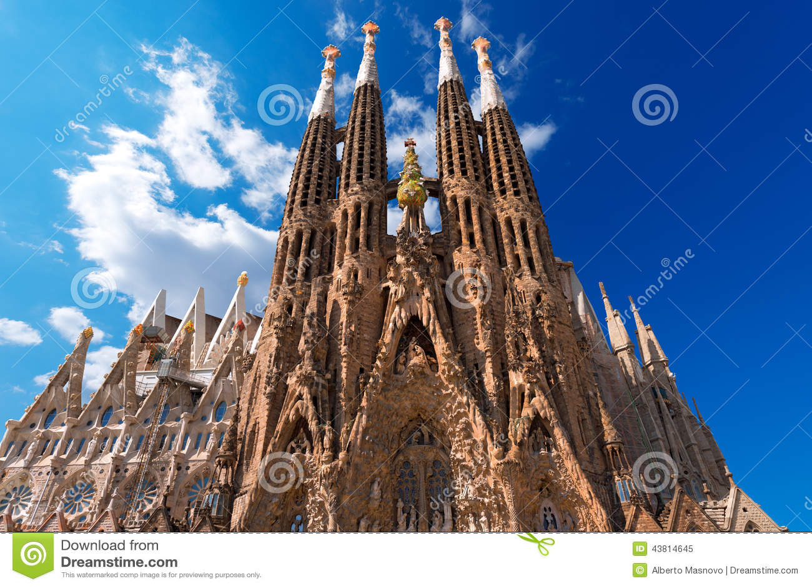 La Sagrada Familia - Barcelona España de Expiatori del templo