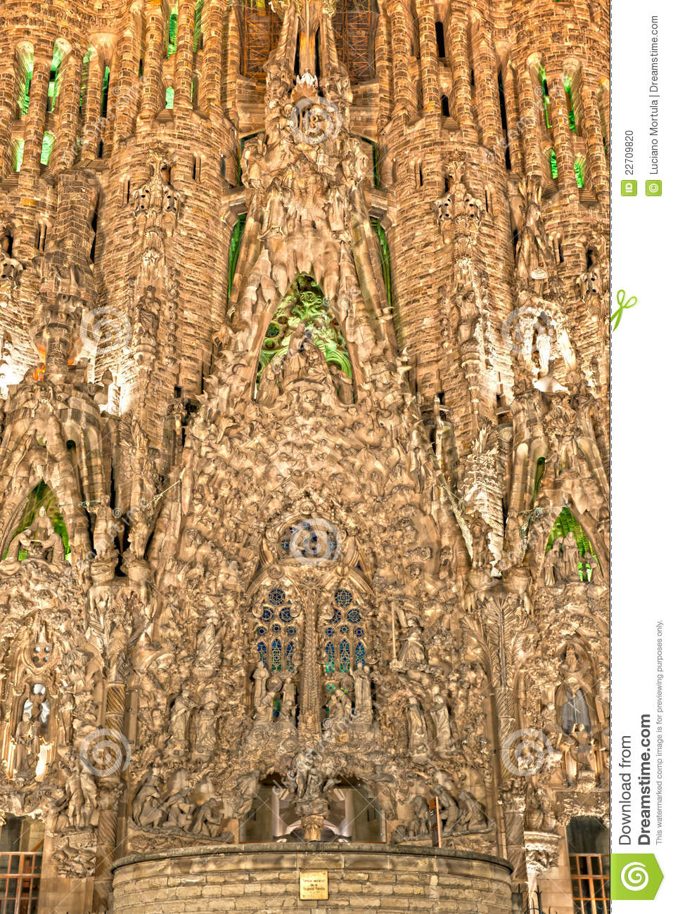 la sagrada familia barcelona spain stock photo image. Black Bedroom Furniture Sets. Home Design Ideas