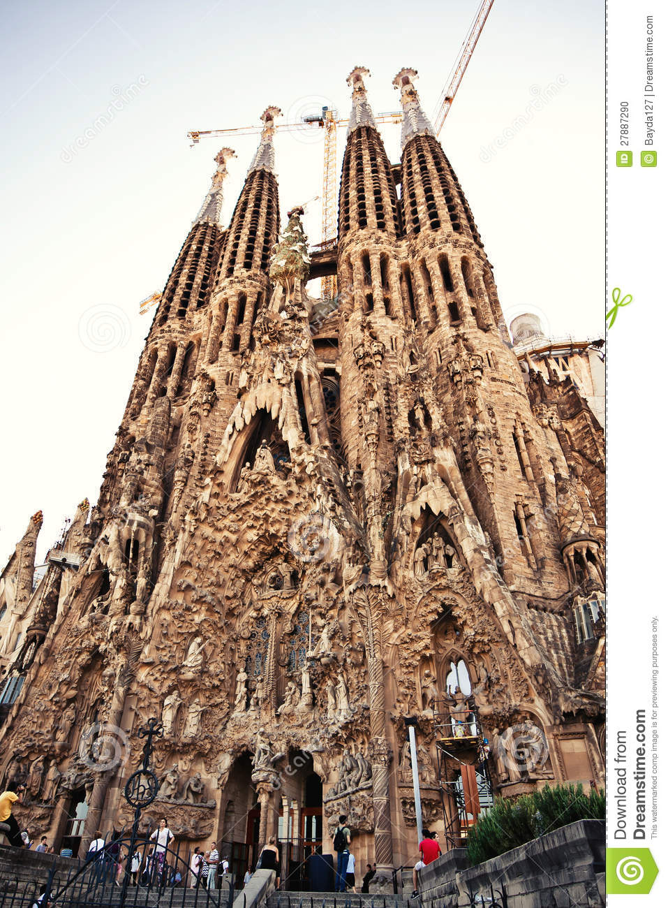 La sagrada familia in barcelona spain editorial image for La sagrada familia barcelona spain
