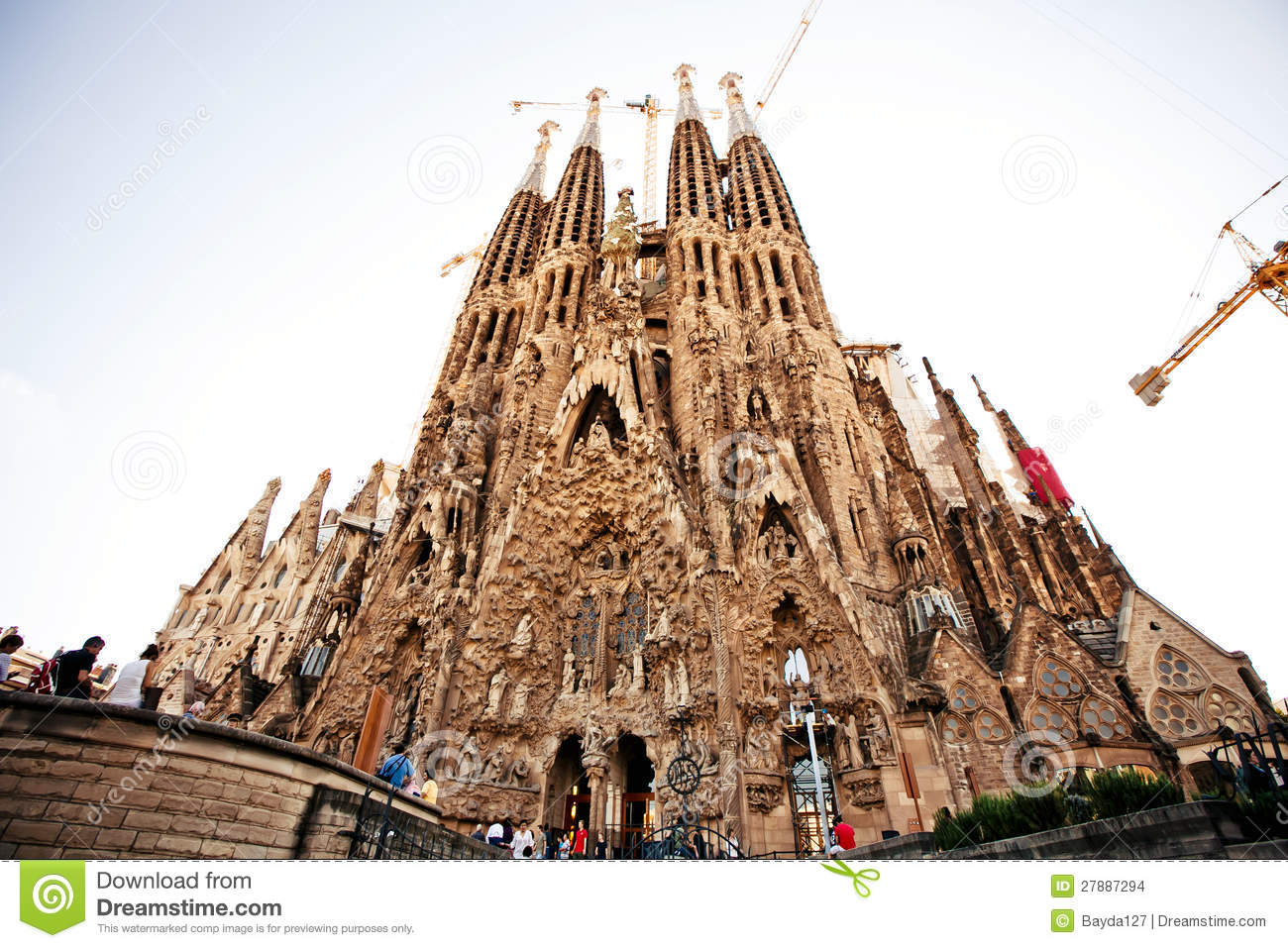 La sagrada familia in barcelona spain editorial stock for La sagrada familia barcelona spain