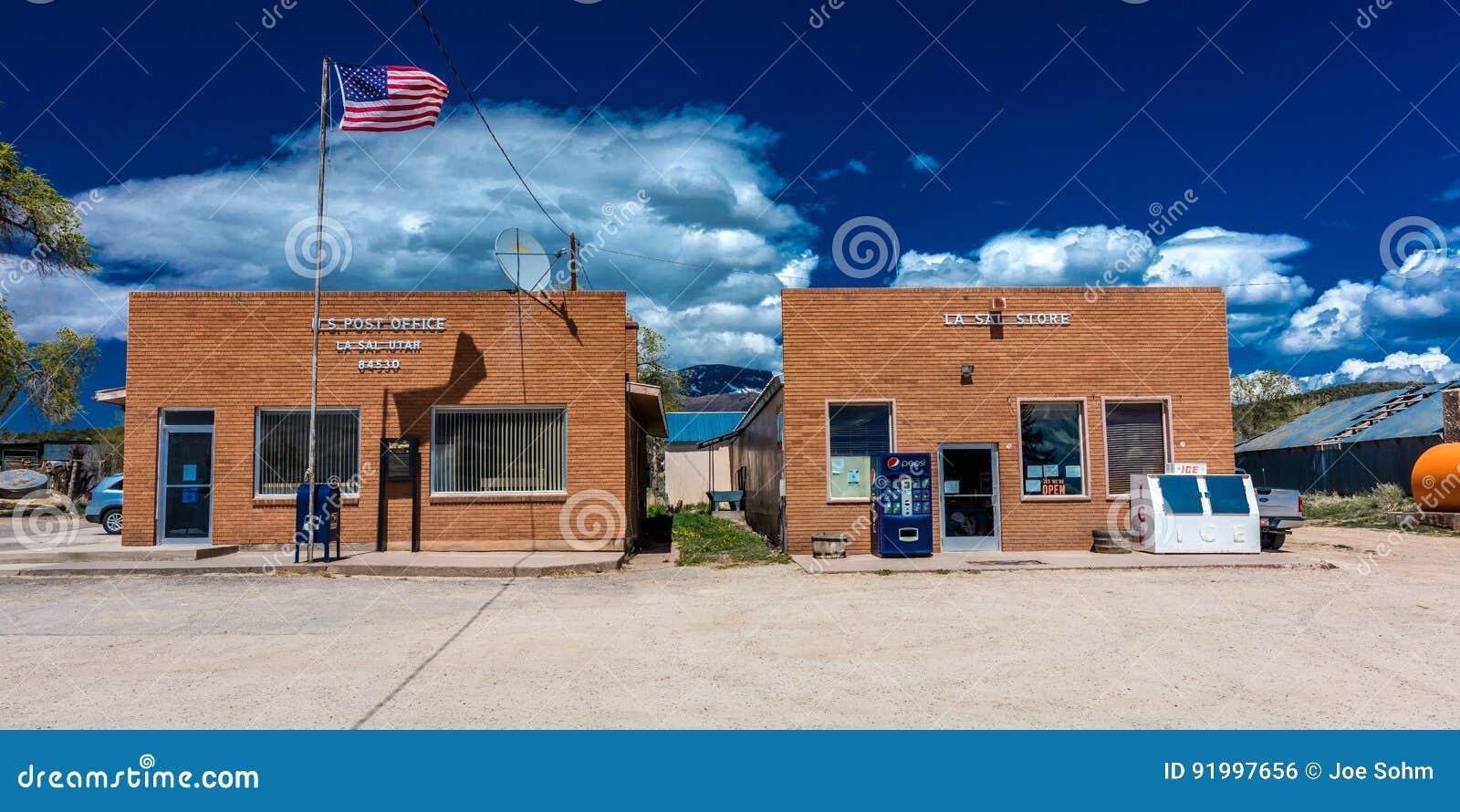La Sal Utah US Post Office Zip Code  A Small Town In The - Usa zip code utah