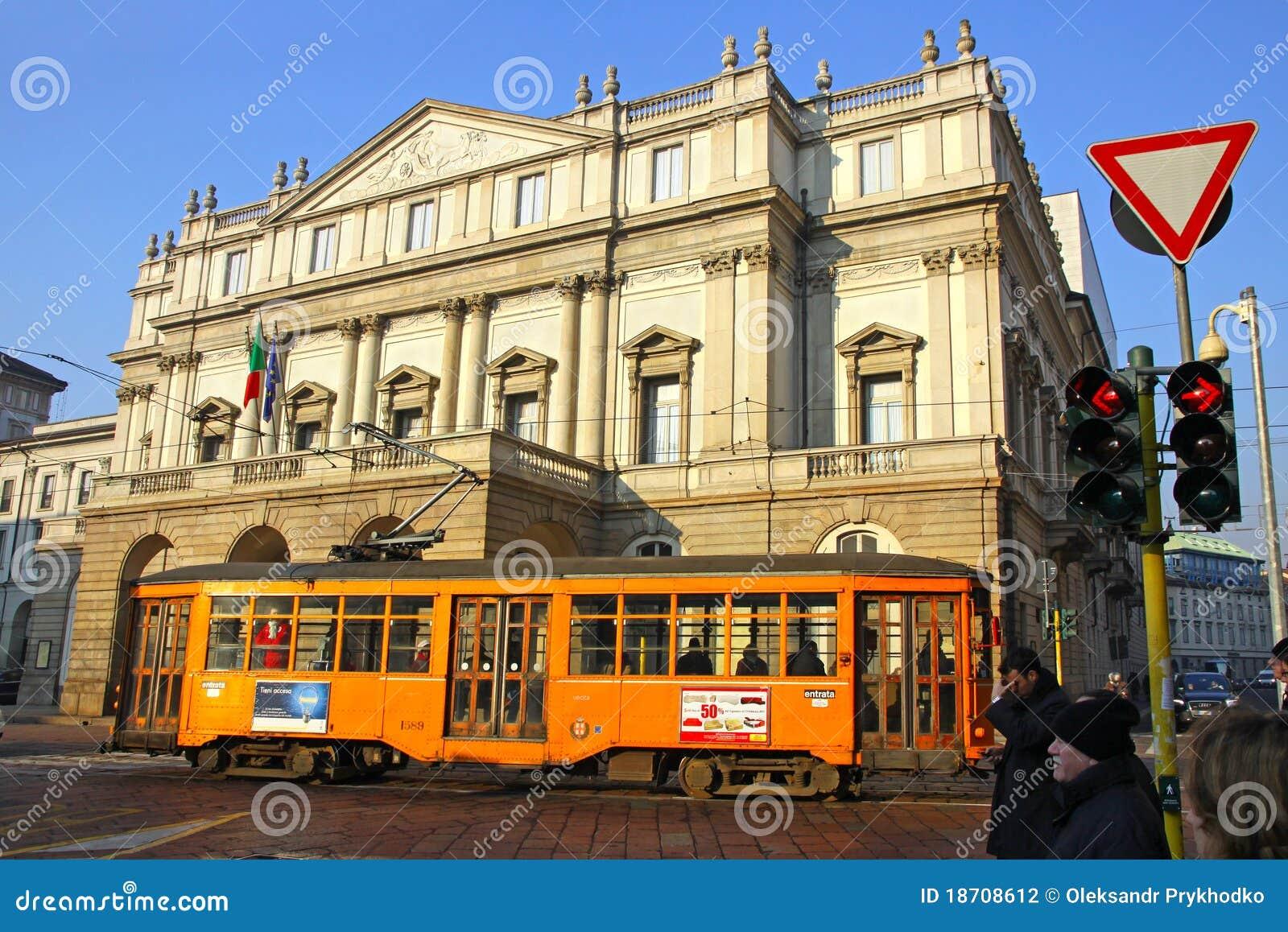 La Scala Theater in Milan