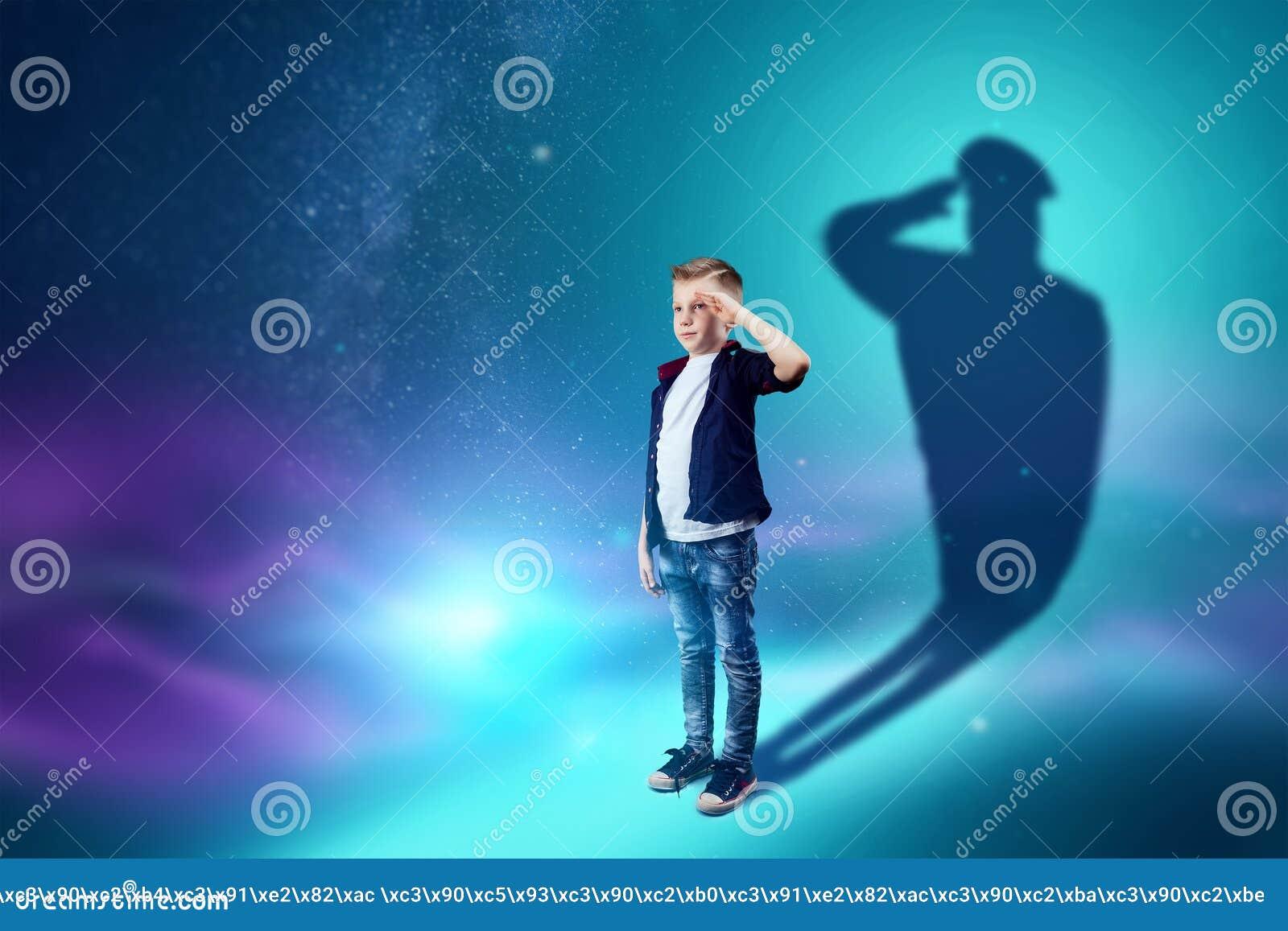 La scelta della professione, il futuro del bambino I sogni del ragazzo di trasformarsi in un militare Il concetto di