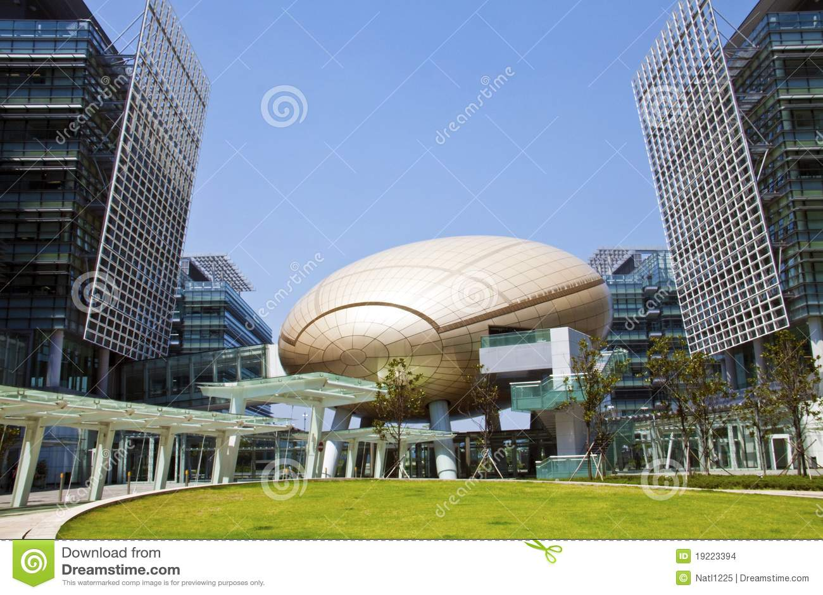 La Science de Hong Kong et stationnement de technologie
