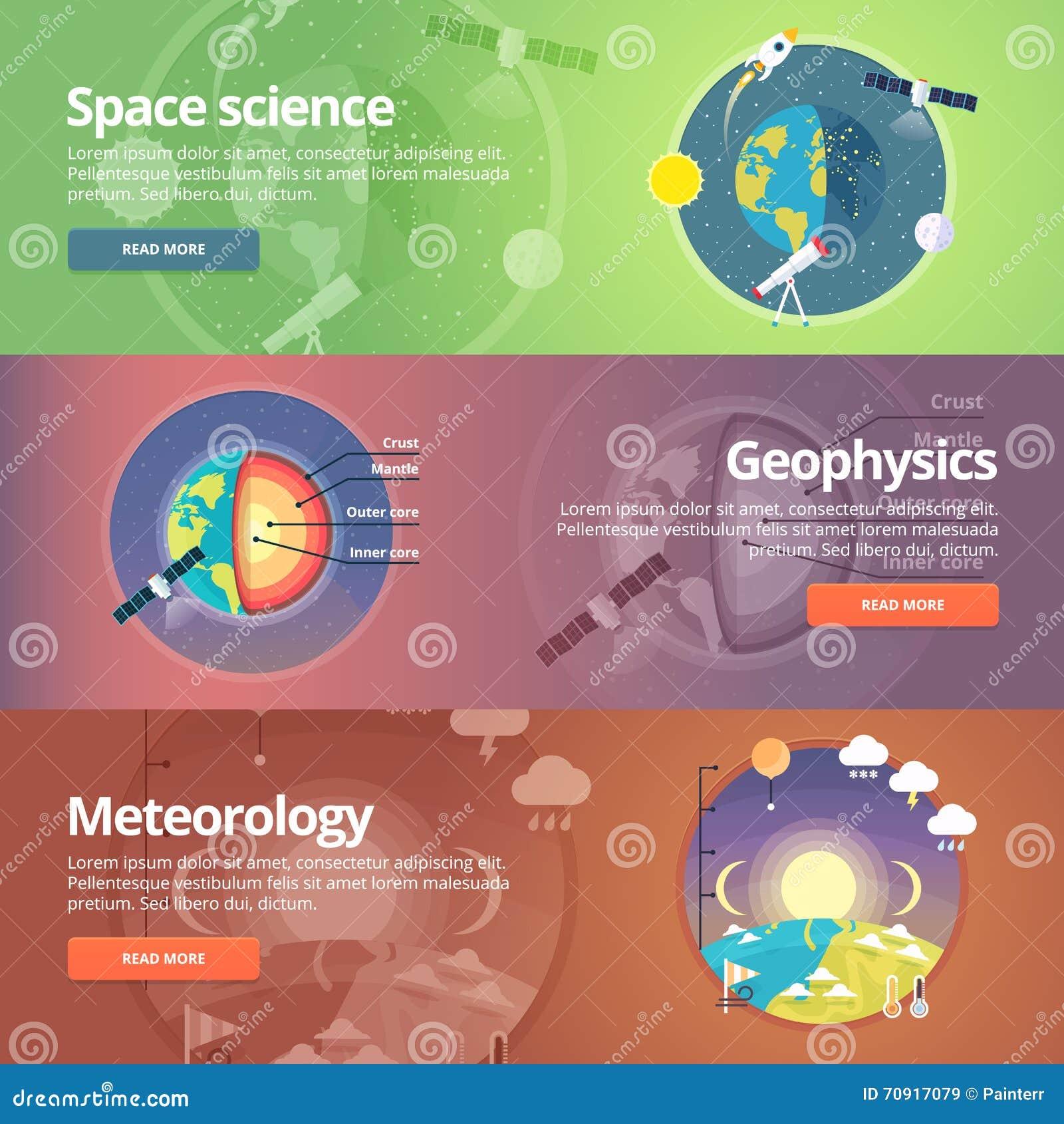 La Science de la terre Exploration de l espace géophysique