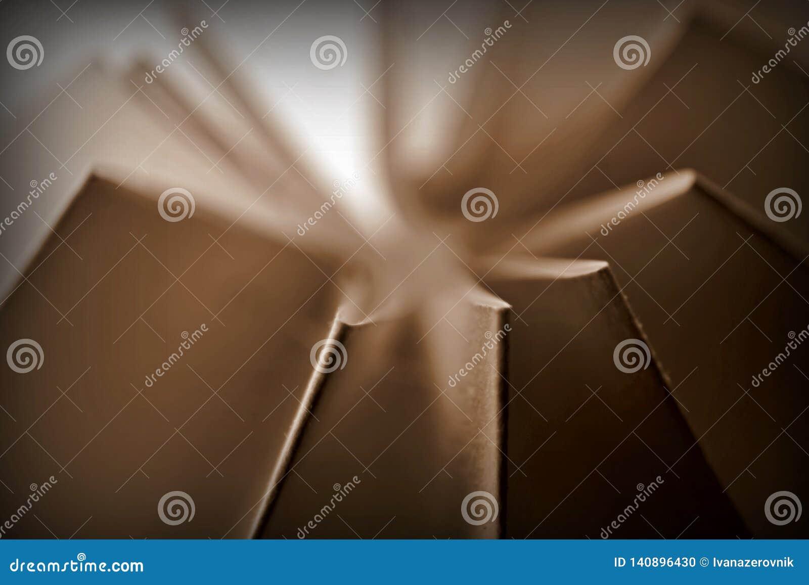 La sepia entonó el extracto doblado de papel