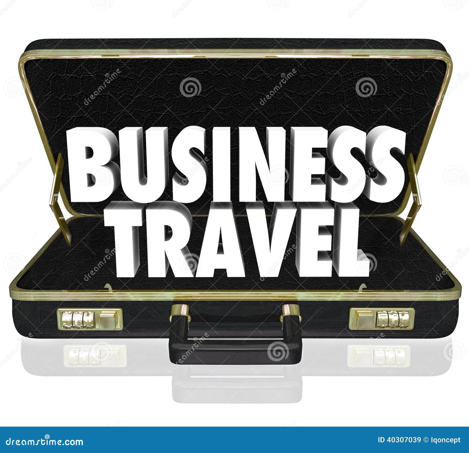 La serviette de voyage d affaires exprime la réunion importante
