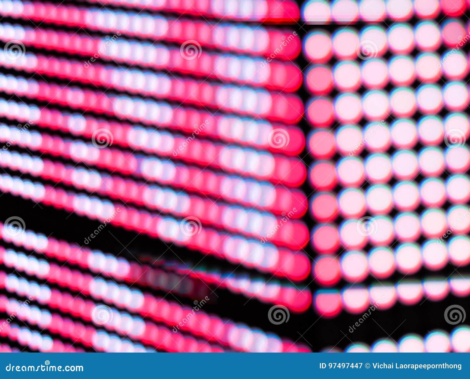 La sfuocatura rosa astratta de di colore messa a fuoco di RGB ha condotto il fondo di schermo