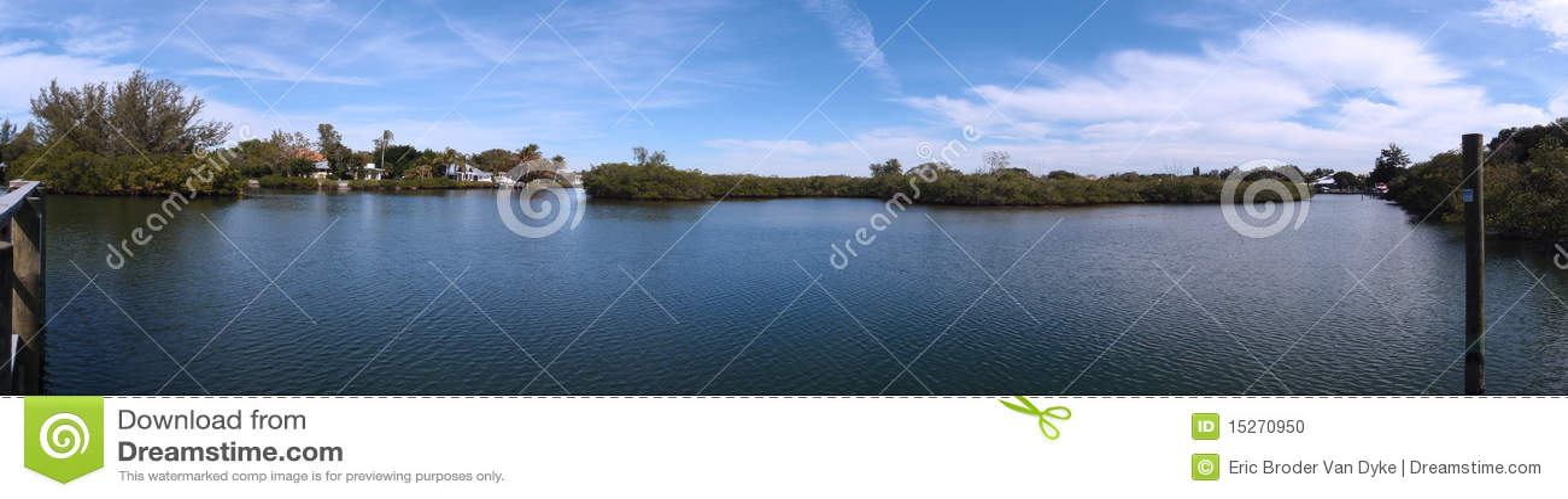 La sièste introduit la région de canal paroramic