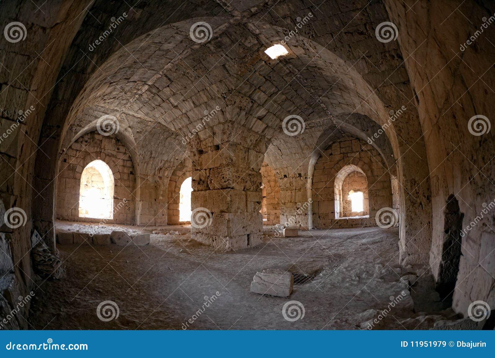 La Siria - castello di Saladin (baccano dell annuncio di Qala at Salah)
