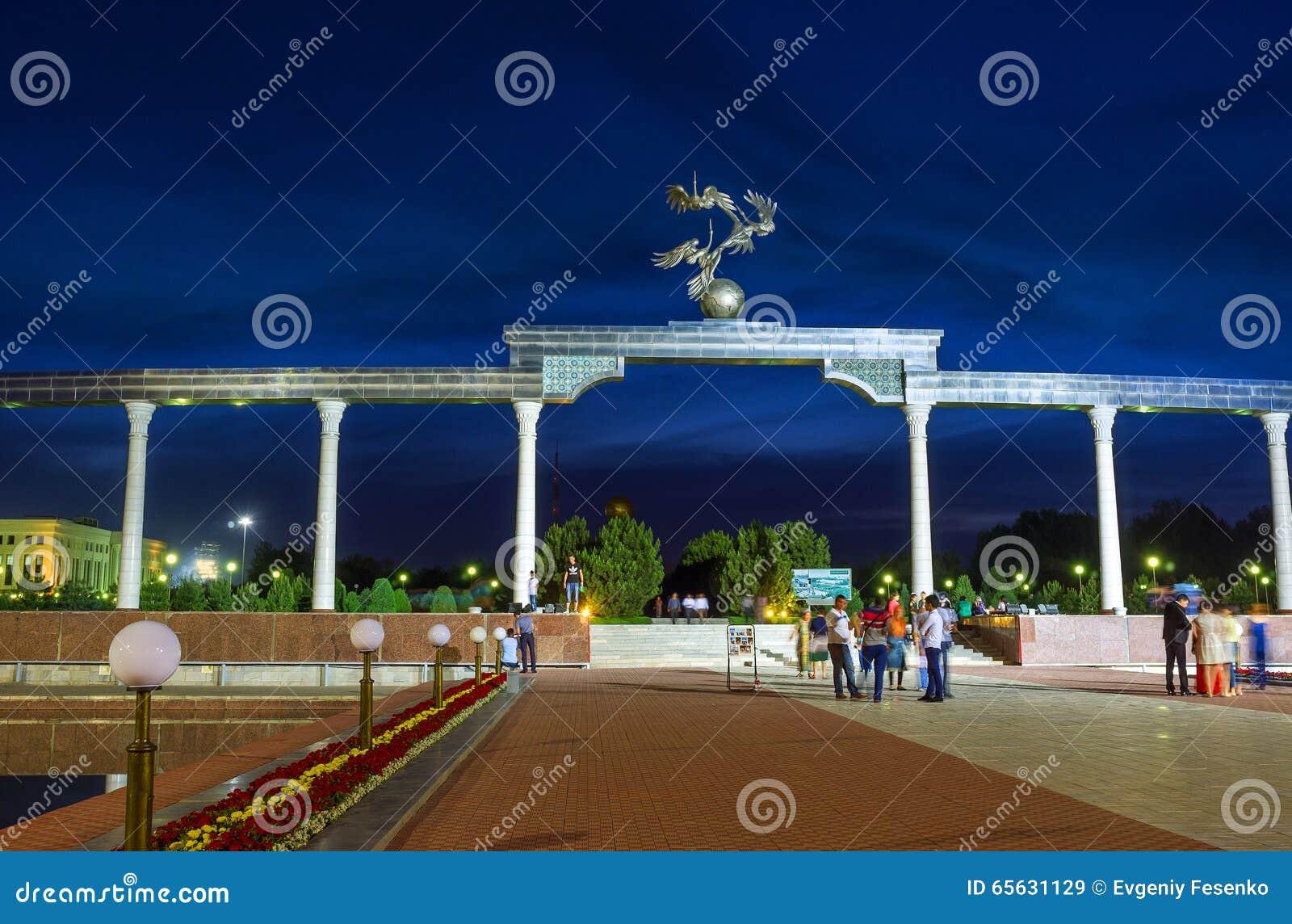La soirée à Tashkent