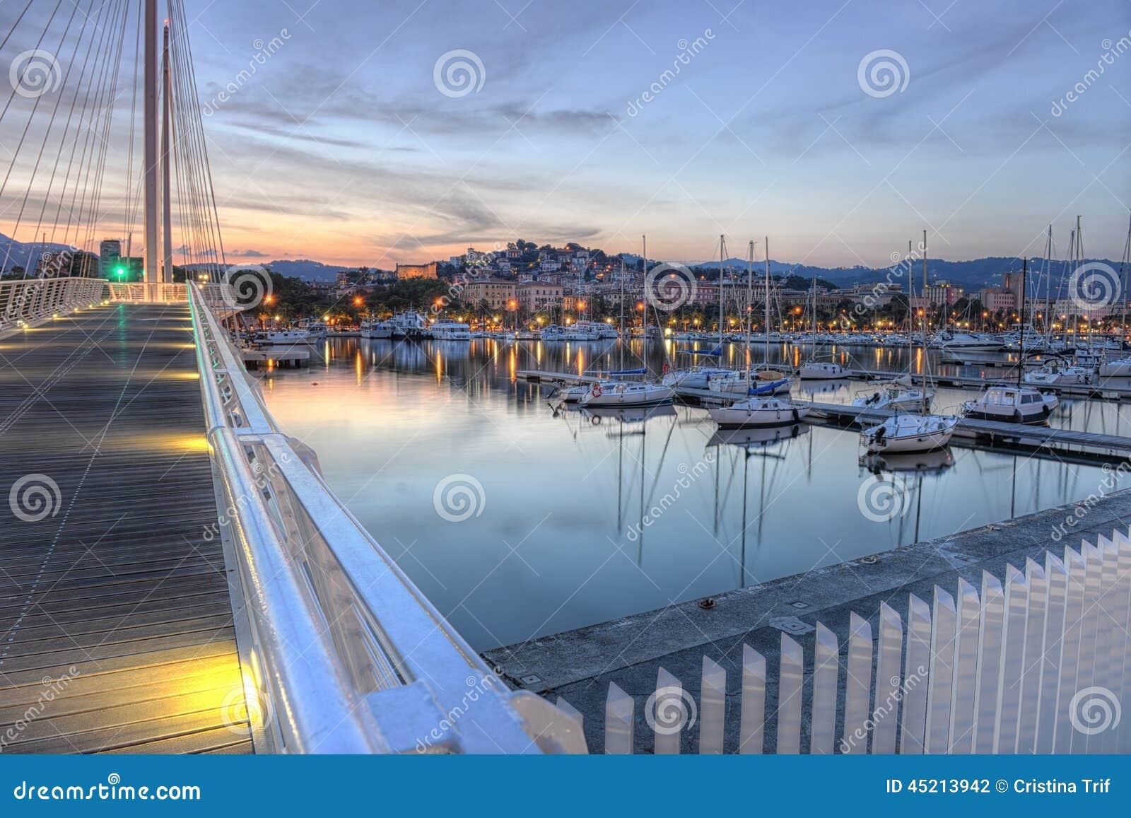 La Spezia port, Cinque Terre, Italy