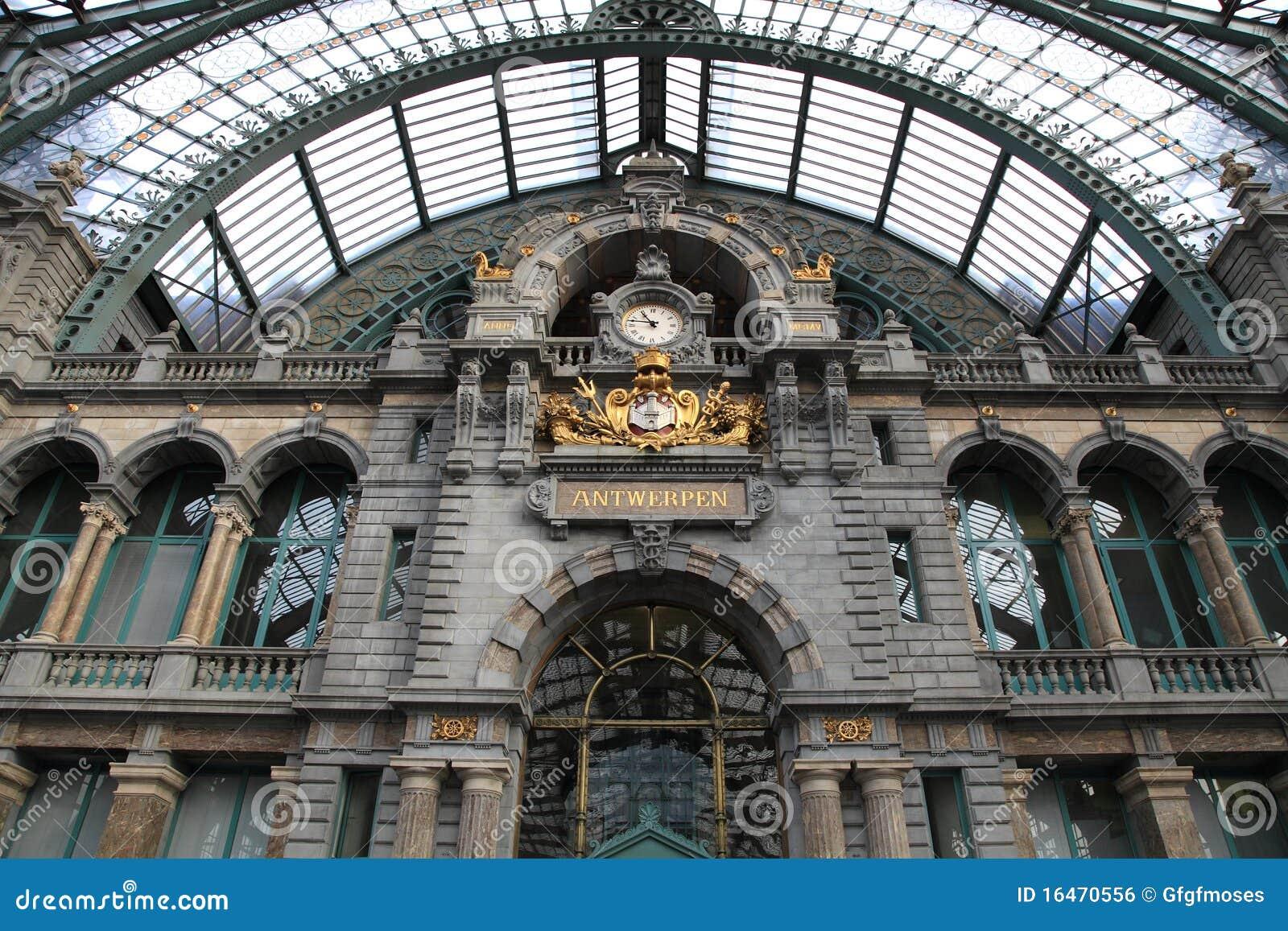 La stazione centrale a anversa dispone l 39 interiore - Casa anversa prezzi ...