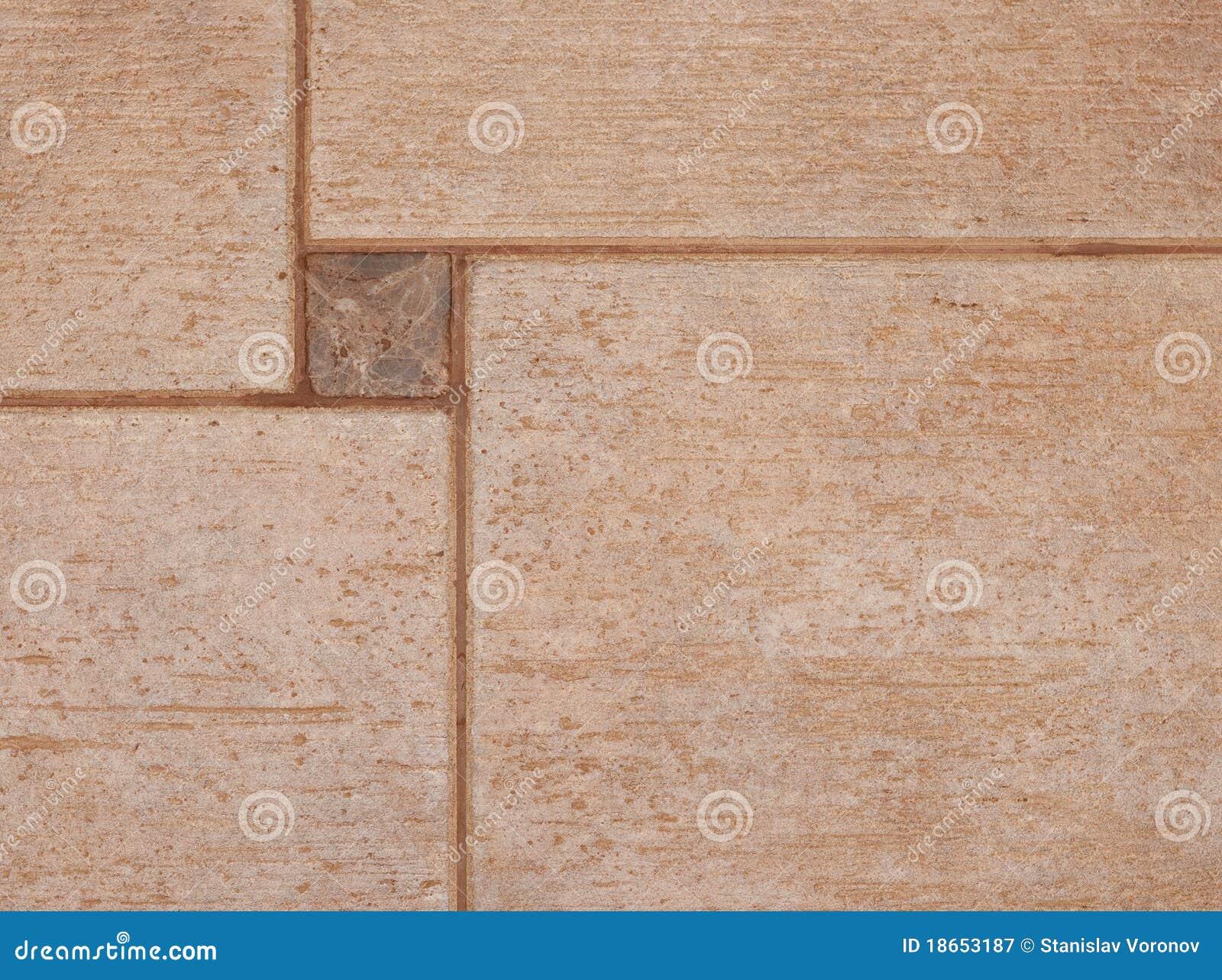 La struttura delle mattonelle di ceramica marroni immagine stock