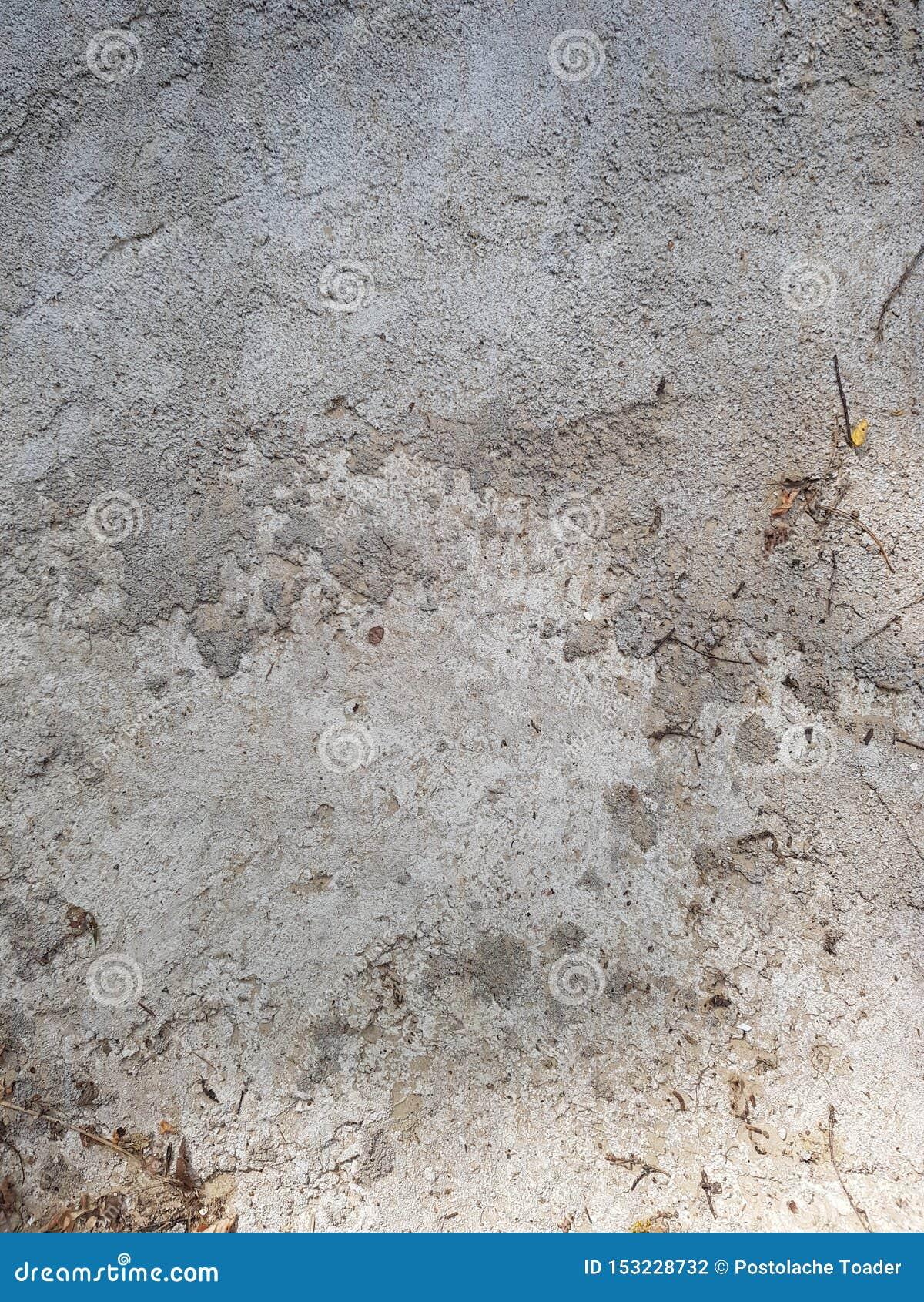 La struttura di calcestruzzo è grigia Struttura nello stile del lerciume grigio