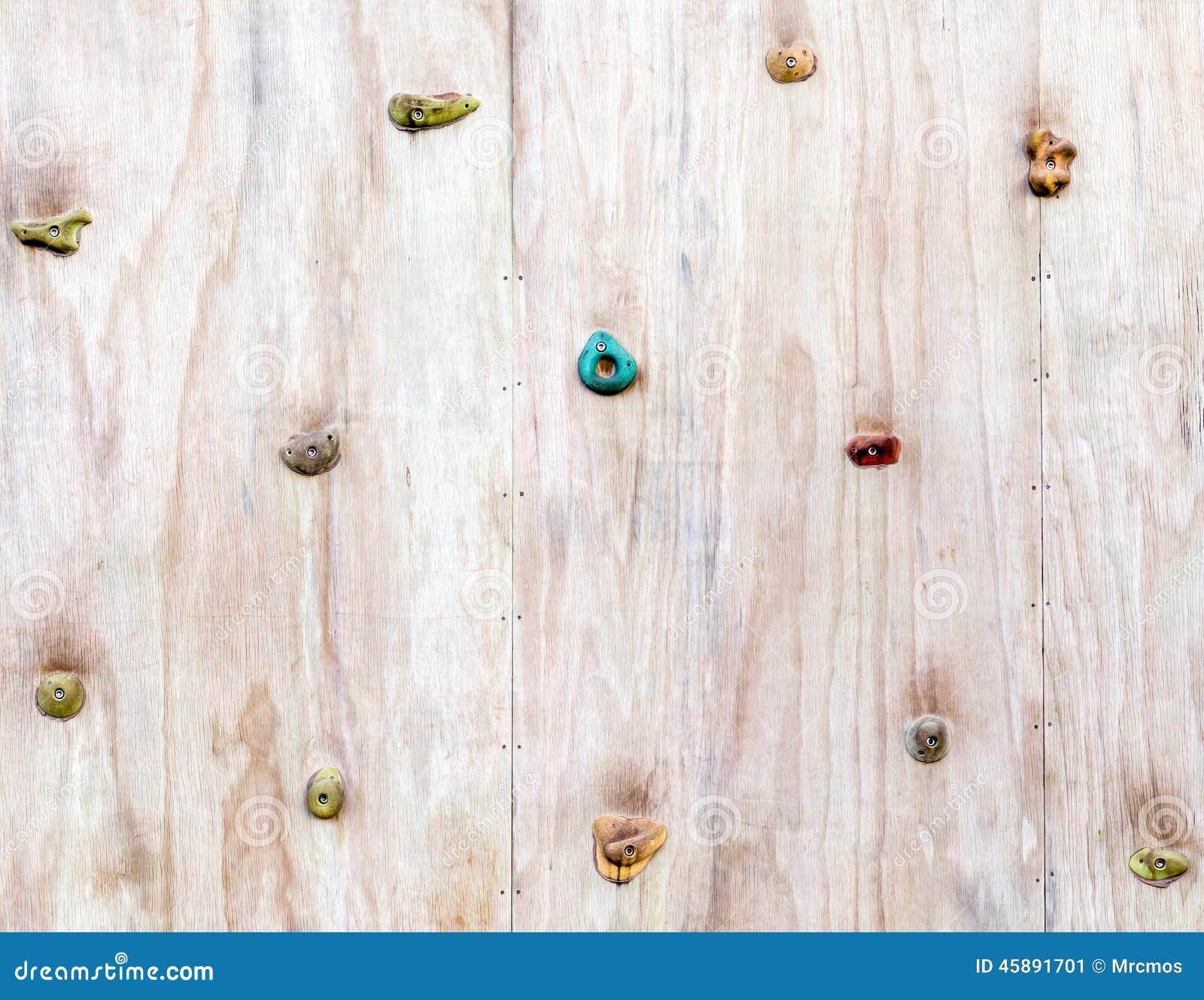 la surface en bois d 39 un mur artificiel d 39 escalade avec la. Black Bedroom Furniture Sets. Home Design Ideas
