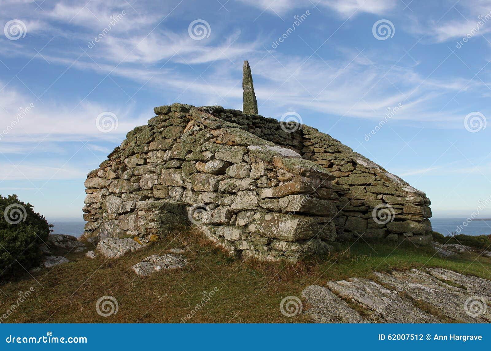 La surveillance et la manière se dirigent, Rhoscolyn, Anglesey, Pays de Galles