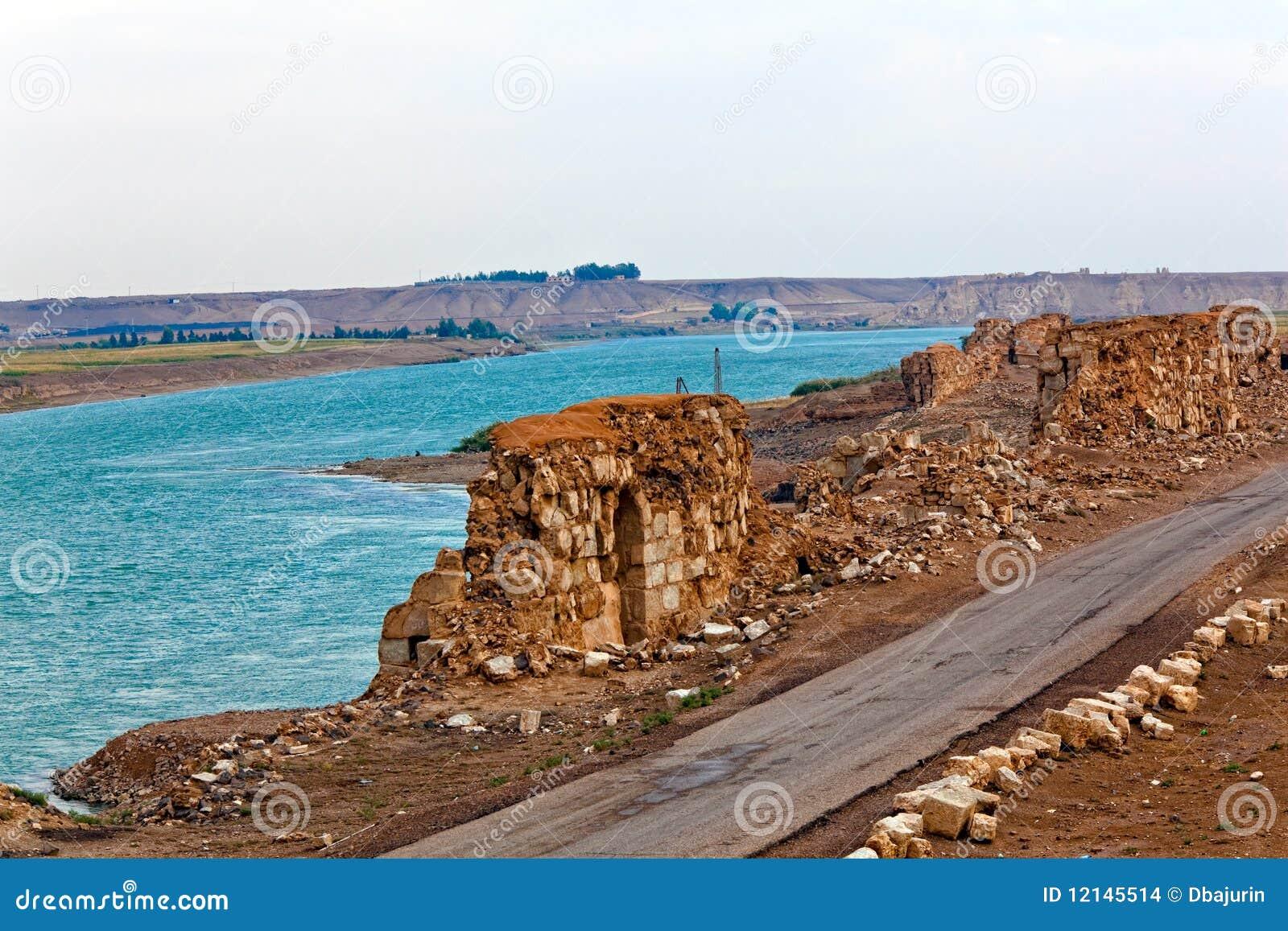 La Syrie - Halabia, ville de Zenobia