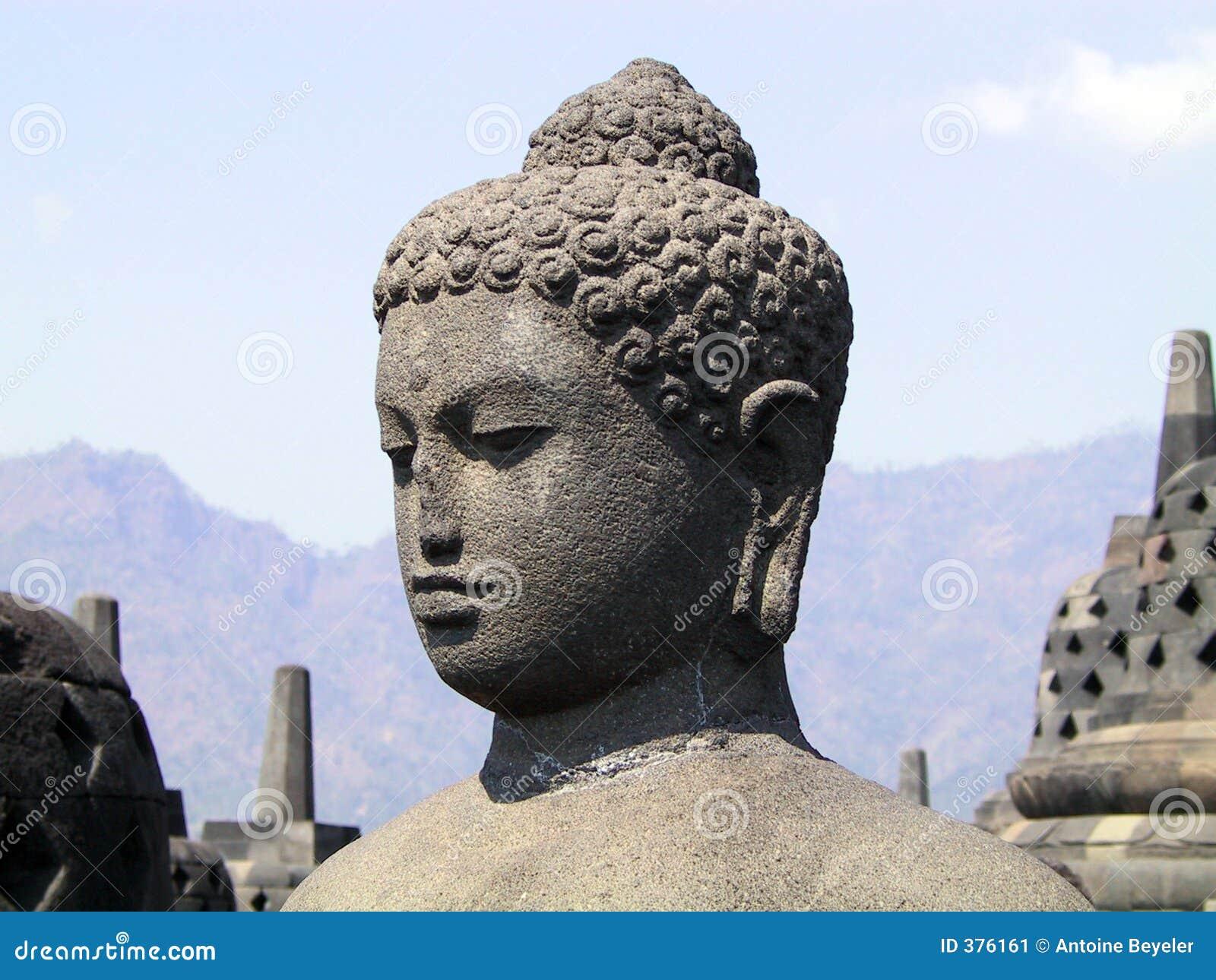 La tête de Bouddha