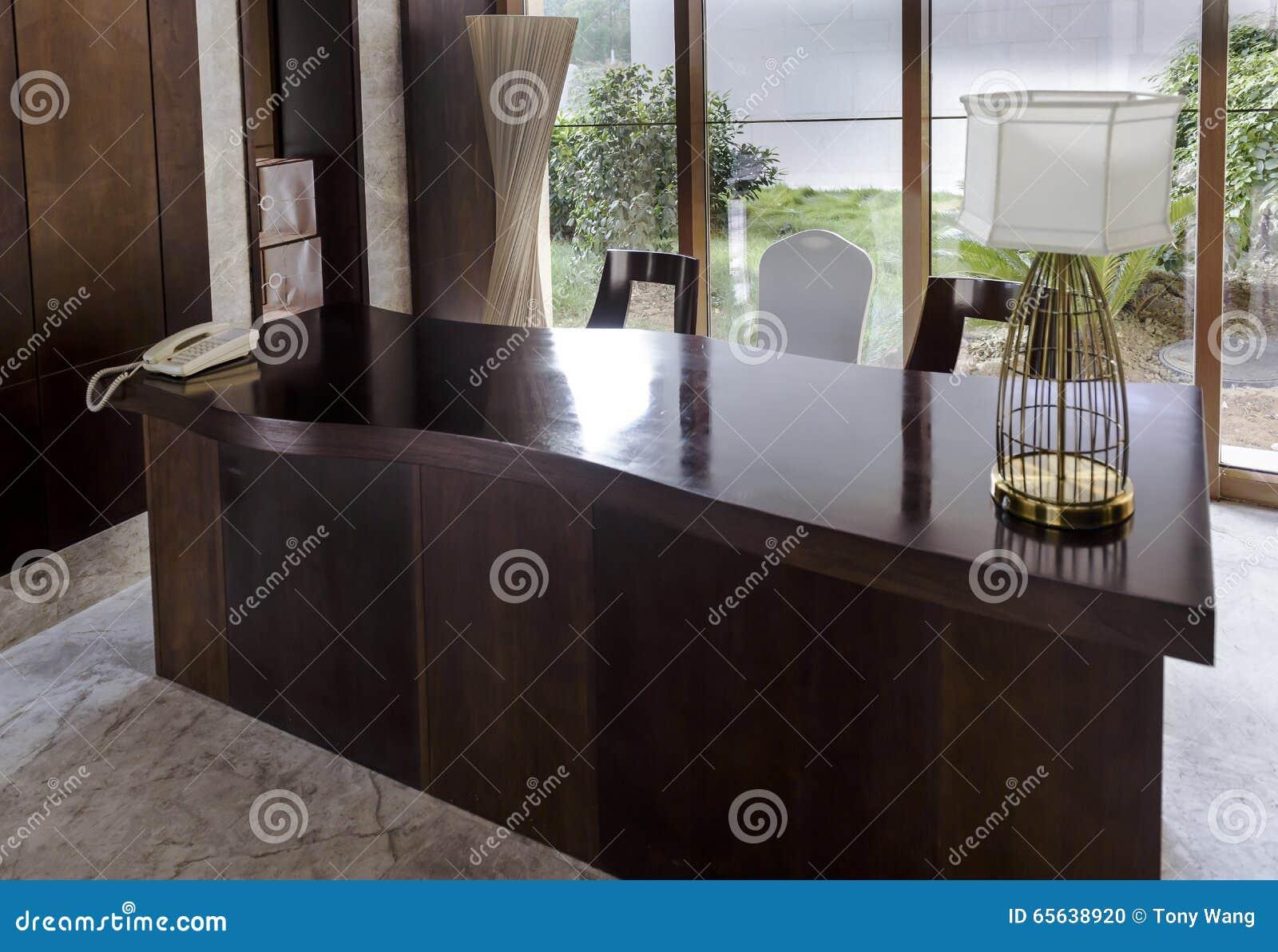 La table d affaire de lobby d hôtel