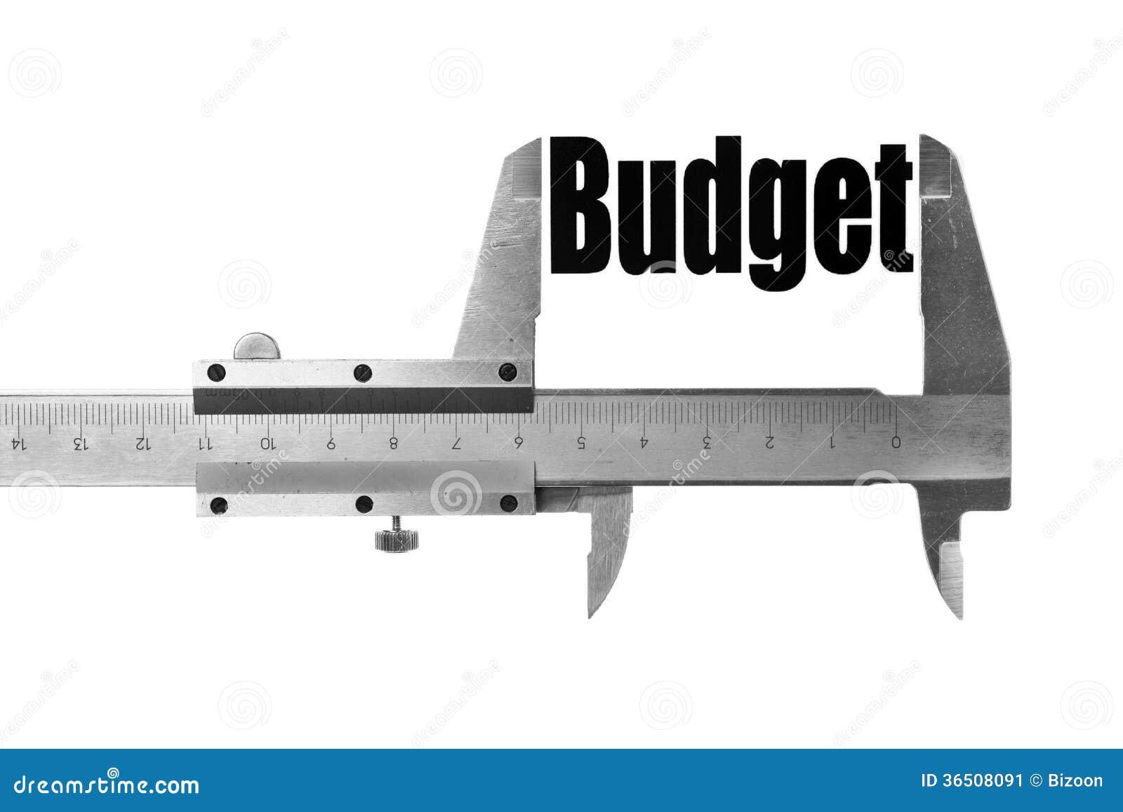 La taille de notre budget