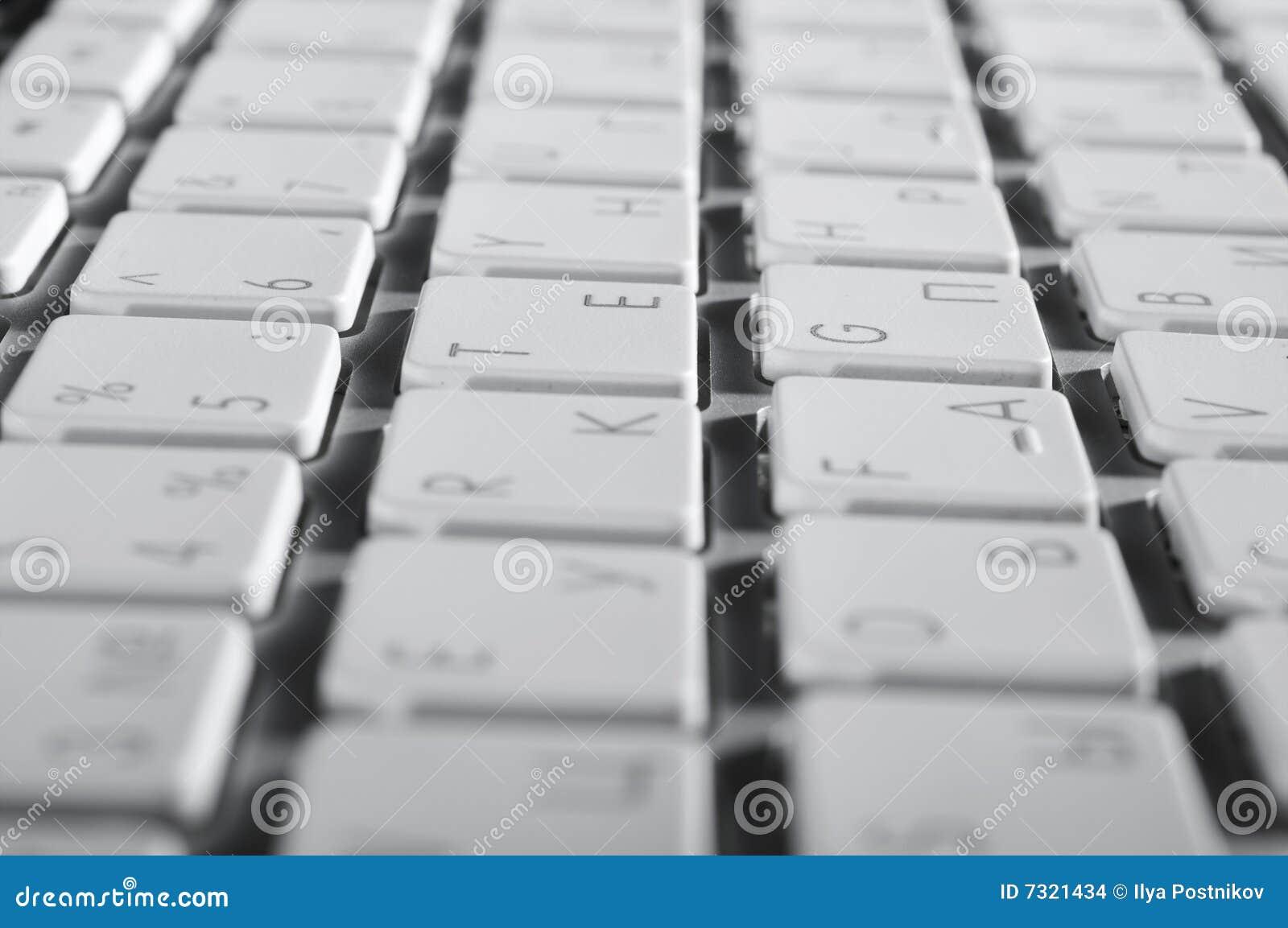 La tastiera di alluminio